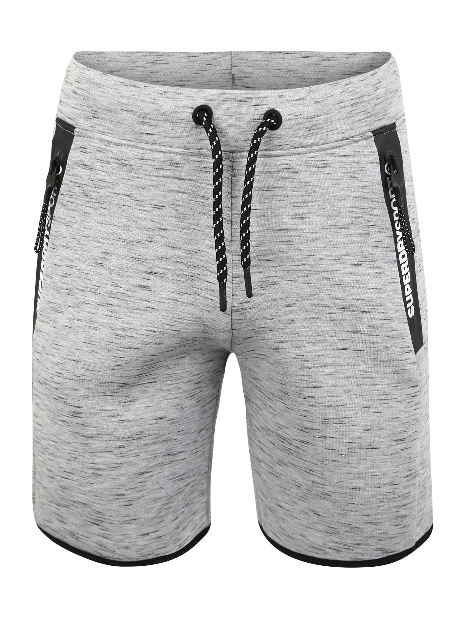 Sportovní kalhoty šedá Superdry