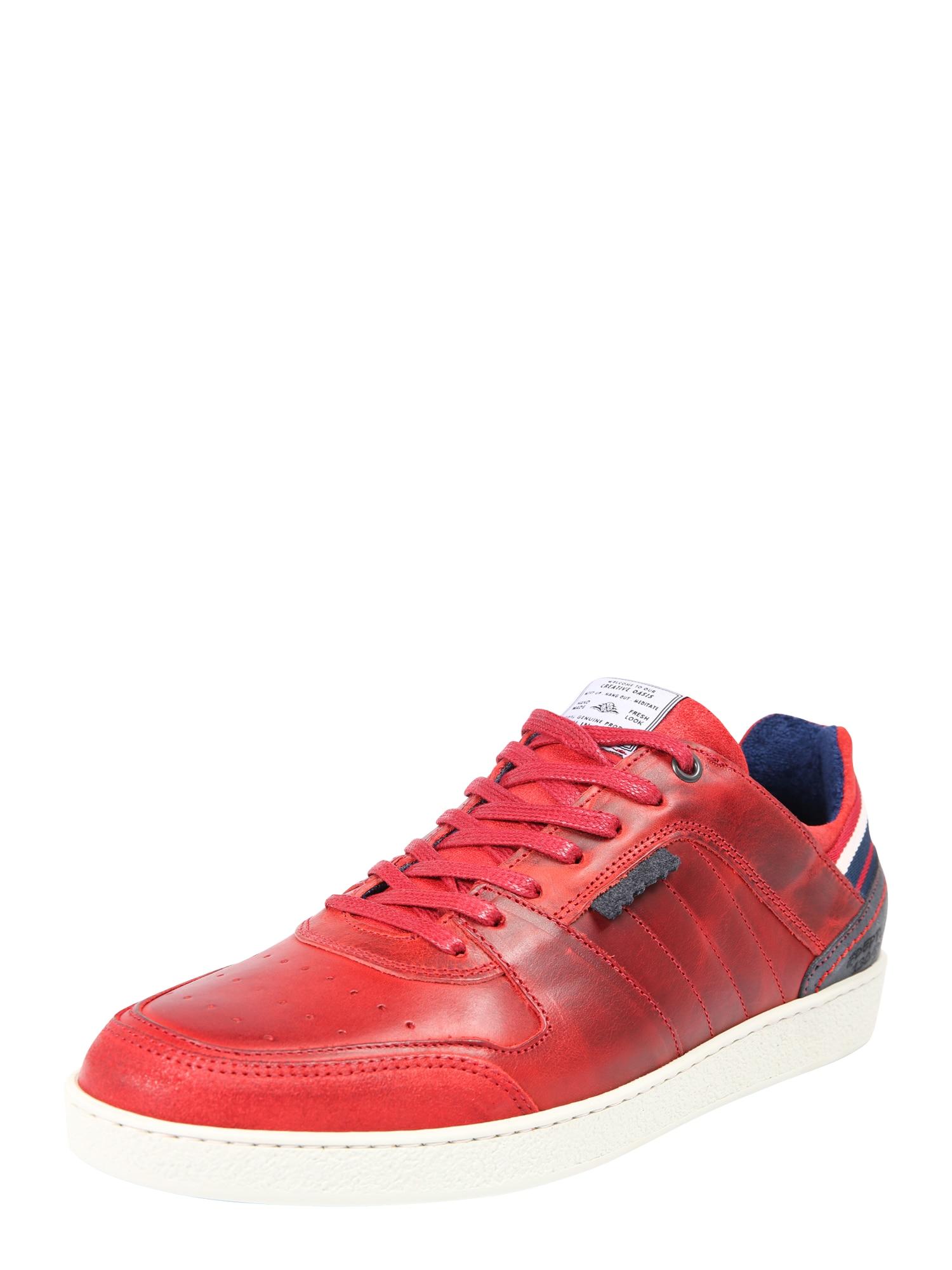 Tenisky modrá červená bílá BULLBOXER