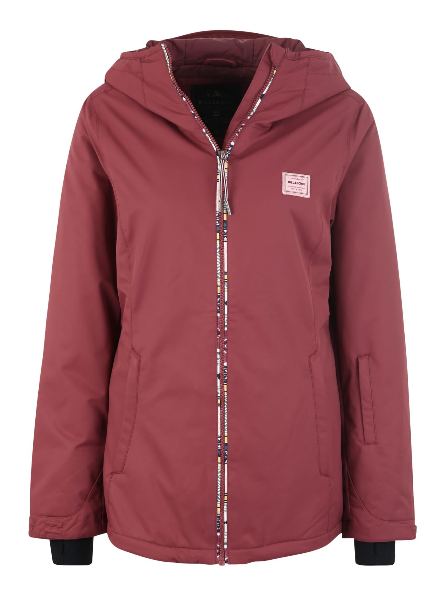 Outdoorová bunda Sula Solid pink BILLABONG