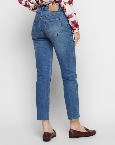 #Noisy #May #Damen #Straight #Fit #Jeans #Seven #NW #Ankle #blau