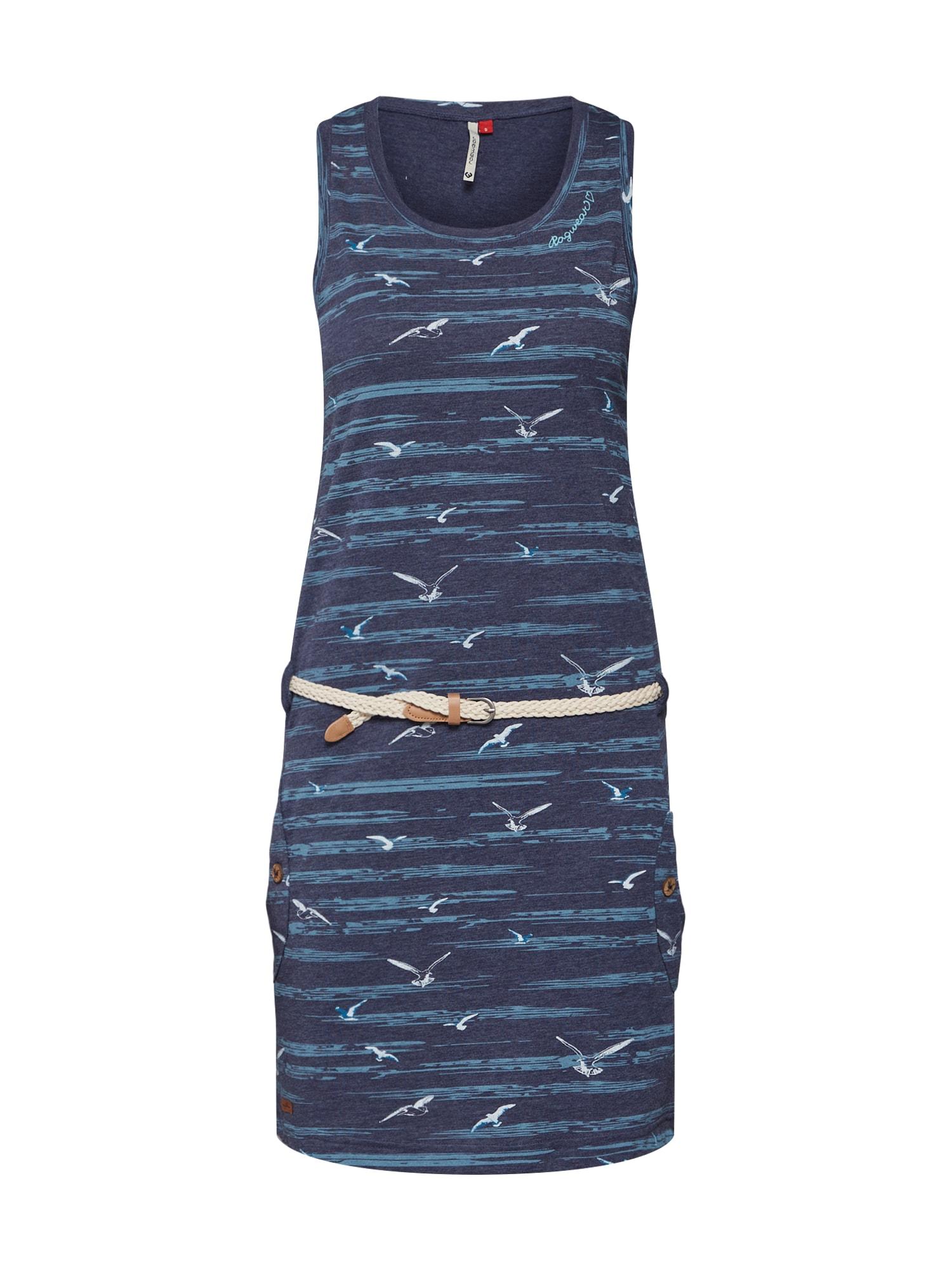 Šaty Kesy námořnická modř šedá Ragwear