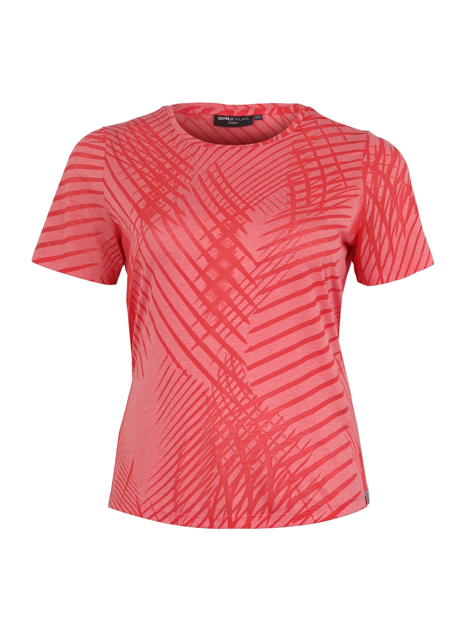 Funkční tričko onpFELICITY pink Only Play Curvy