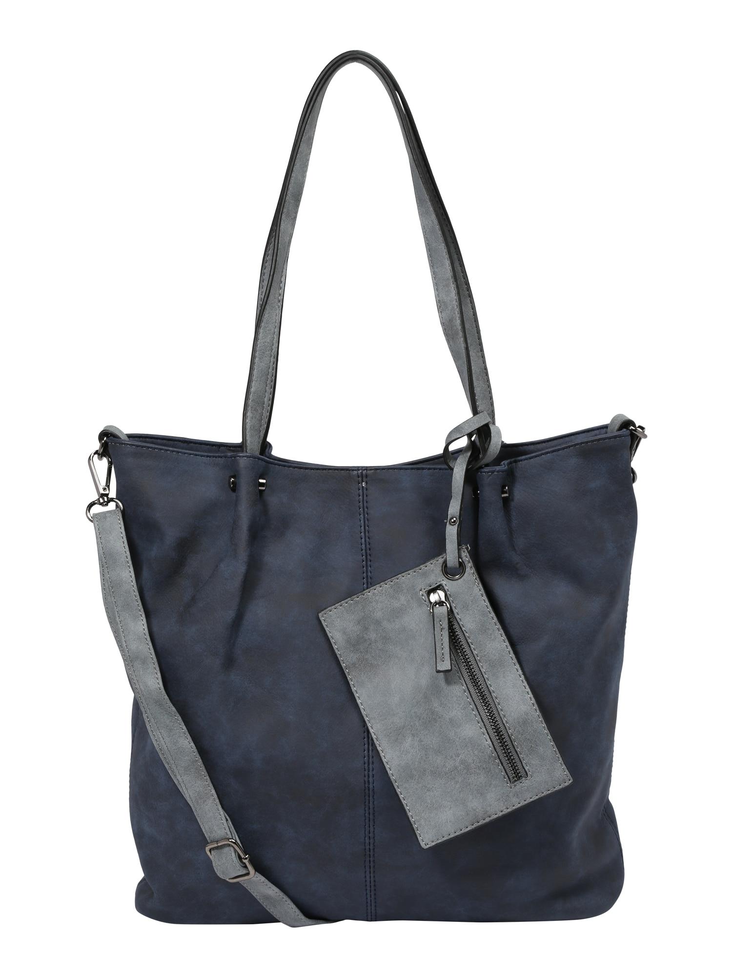 Nákupní taška Surprise noční modrá šedá Emily & Noah