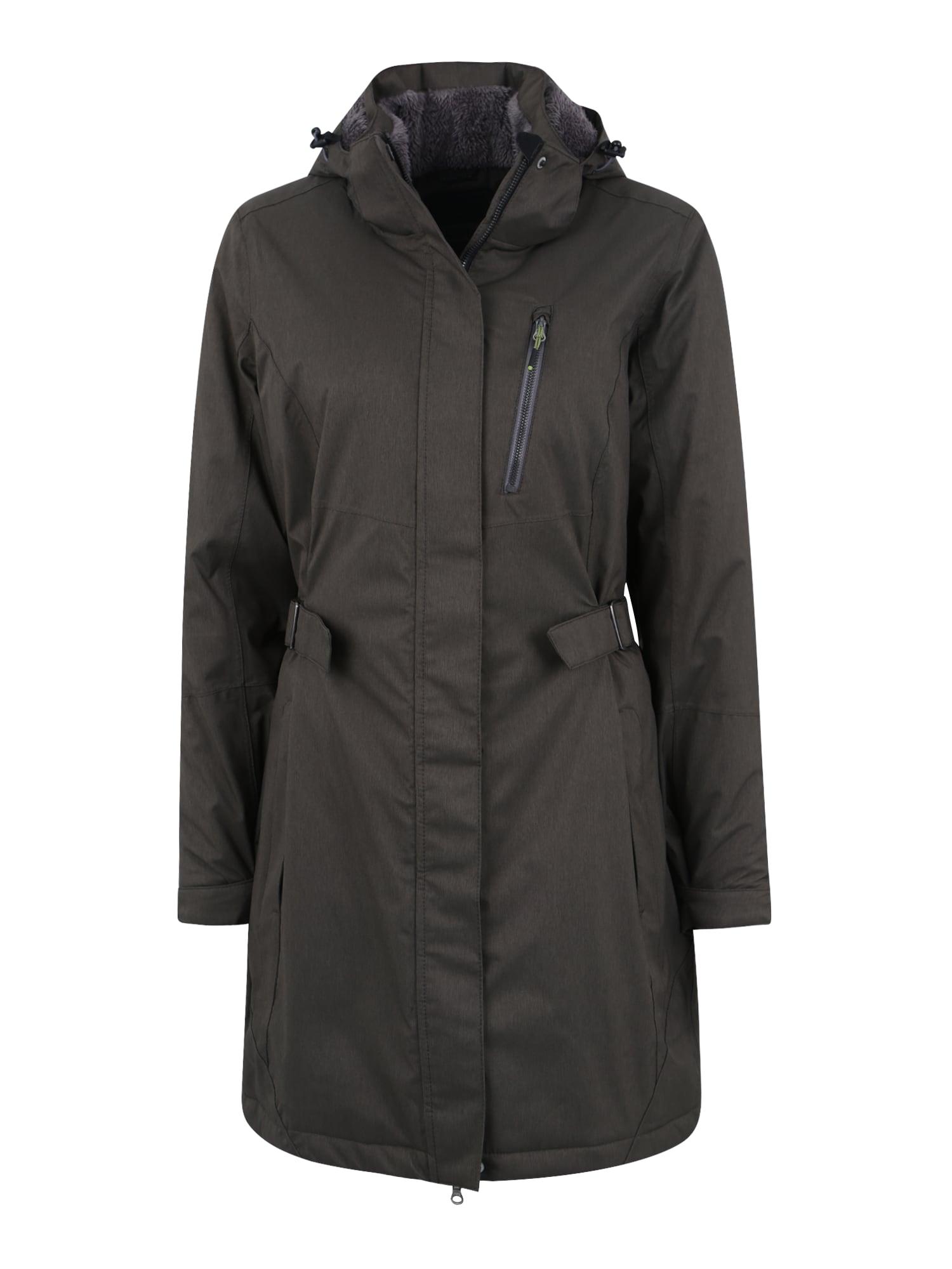 Outdoorový kabát Alisi olivová KILLTEC