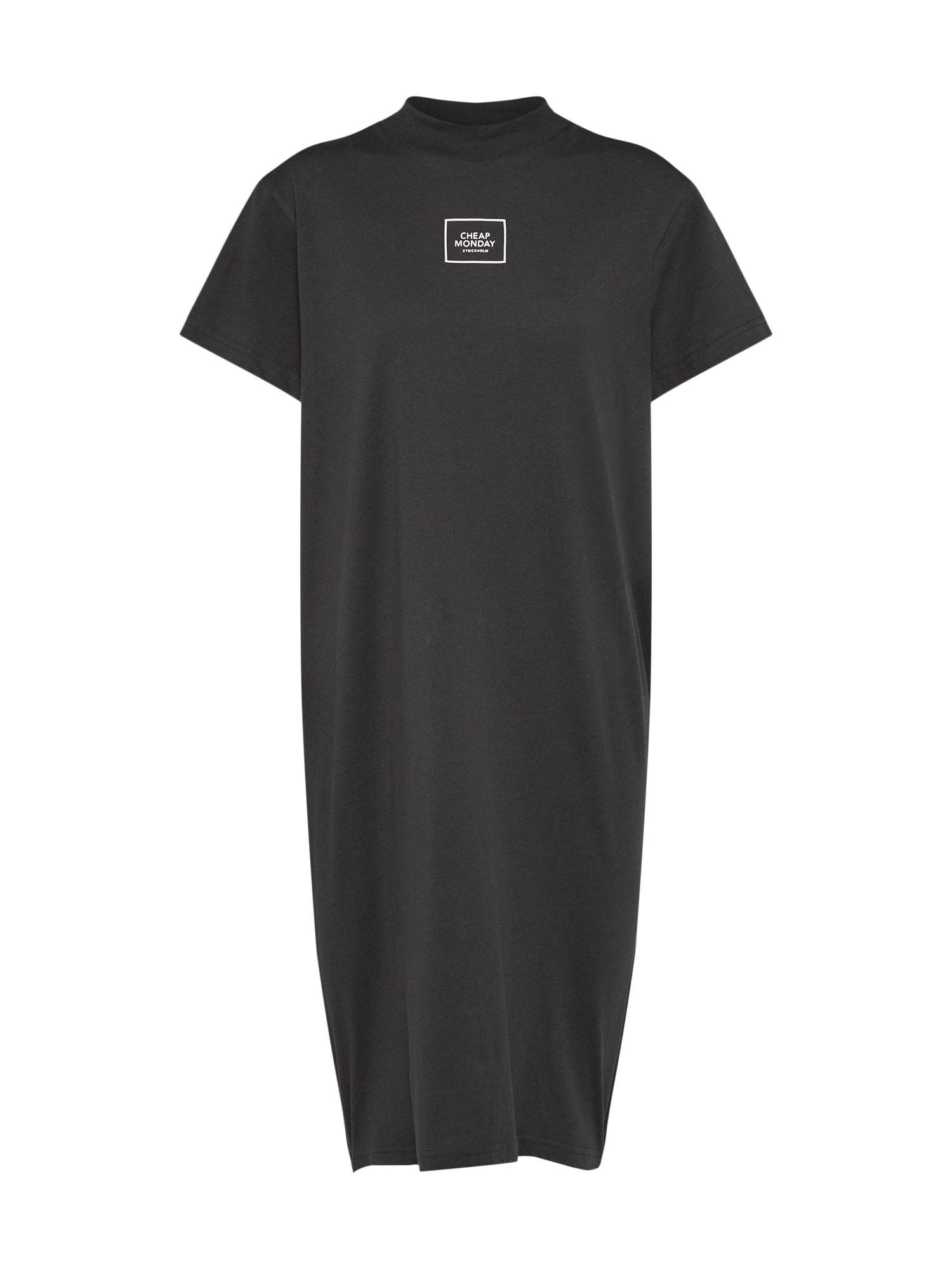 CHEAP MONDAY Dames Oversized jurk zwart wit