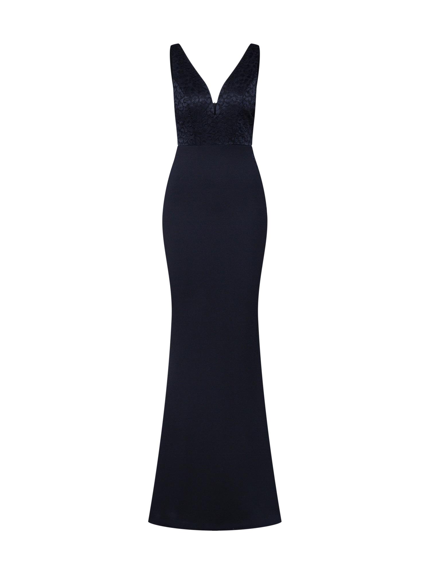 Společenské šaty 75106 černá WAL G.