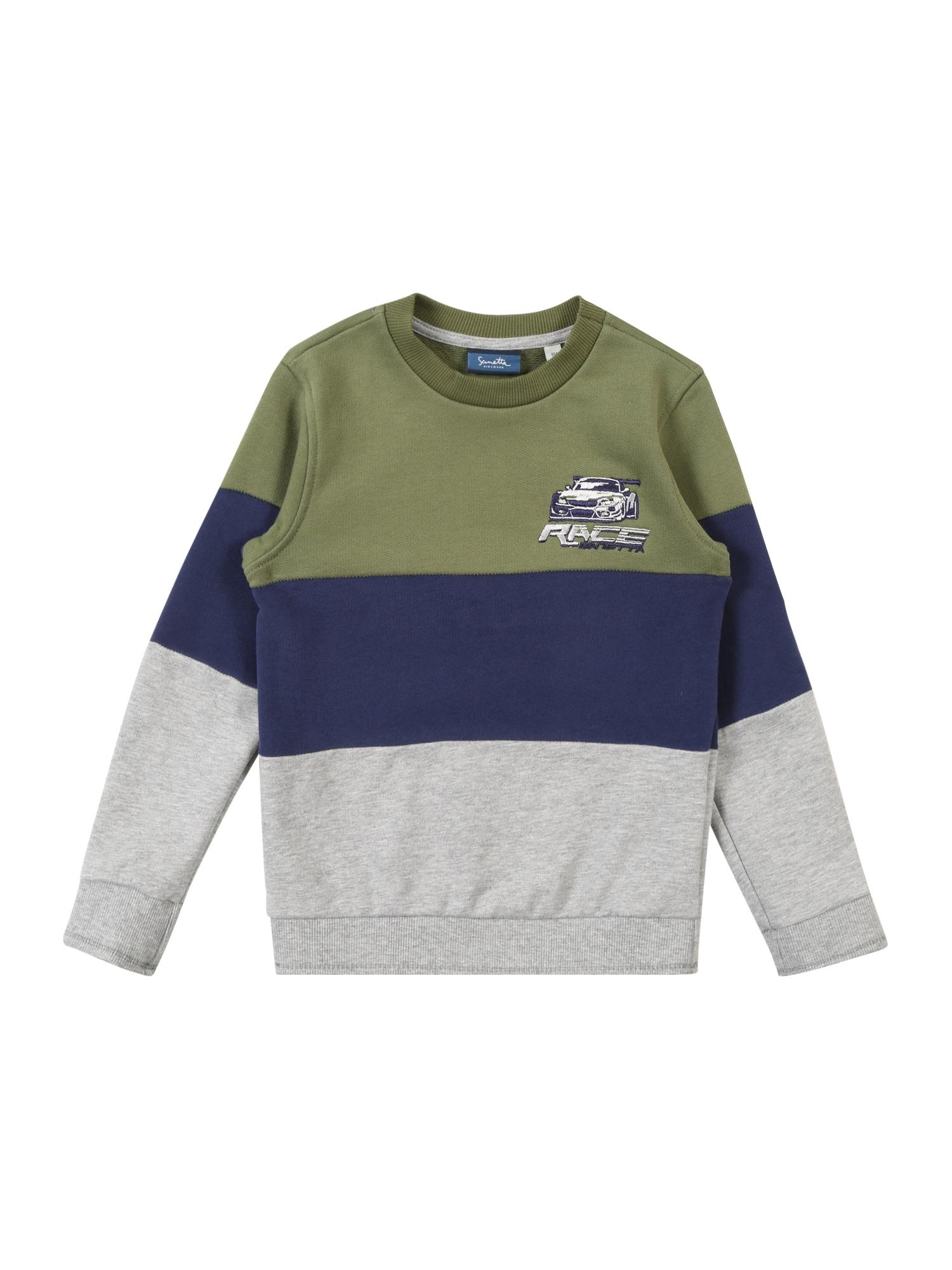 Mikina olivová Sanetta Kidswear
