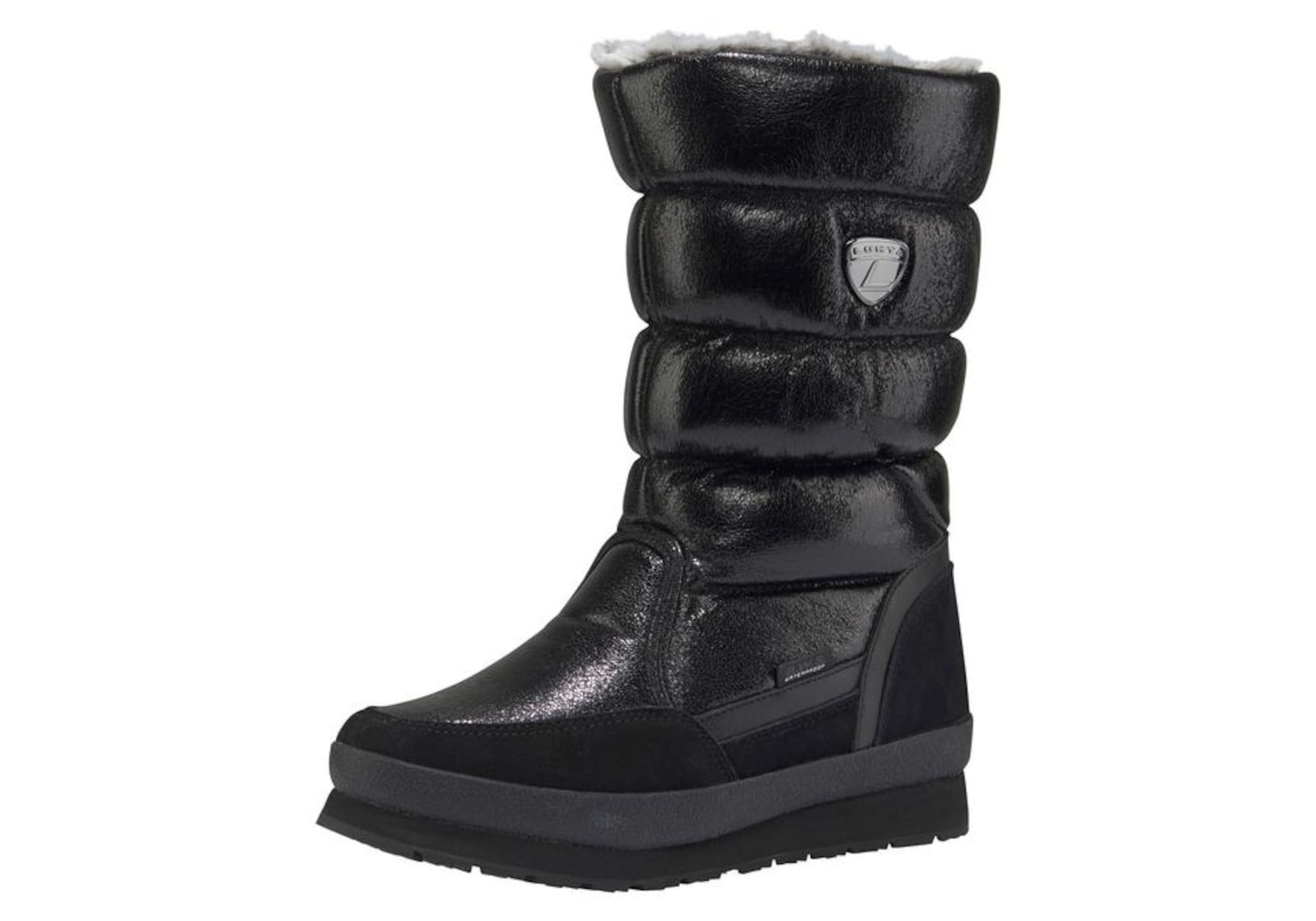 Schlupfboots 'Leenu' | Schuhe > Boots > Sonstige Boots | Schwarz | LUHTA