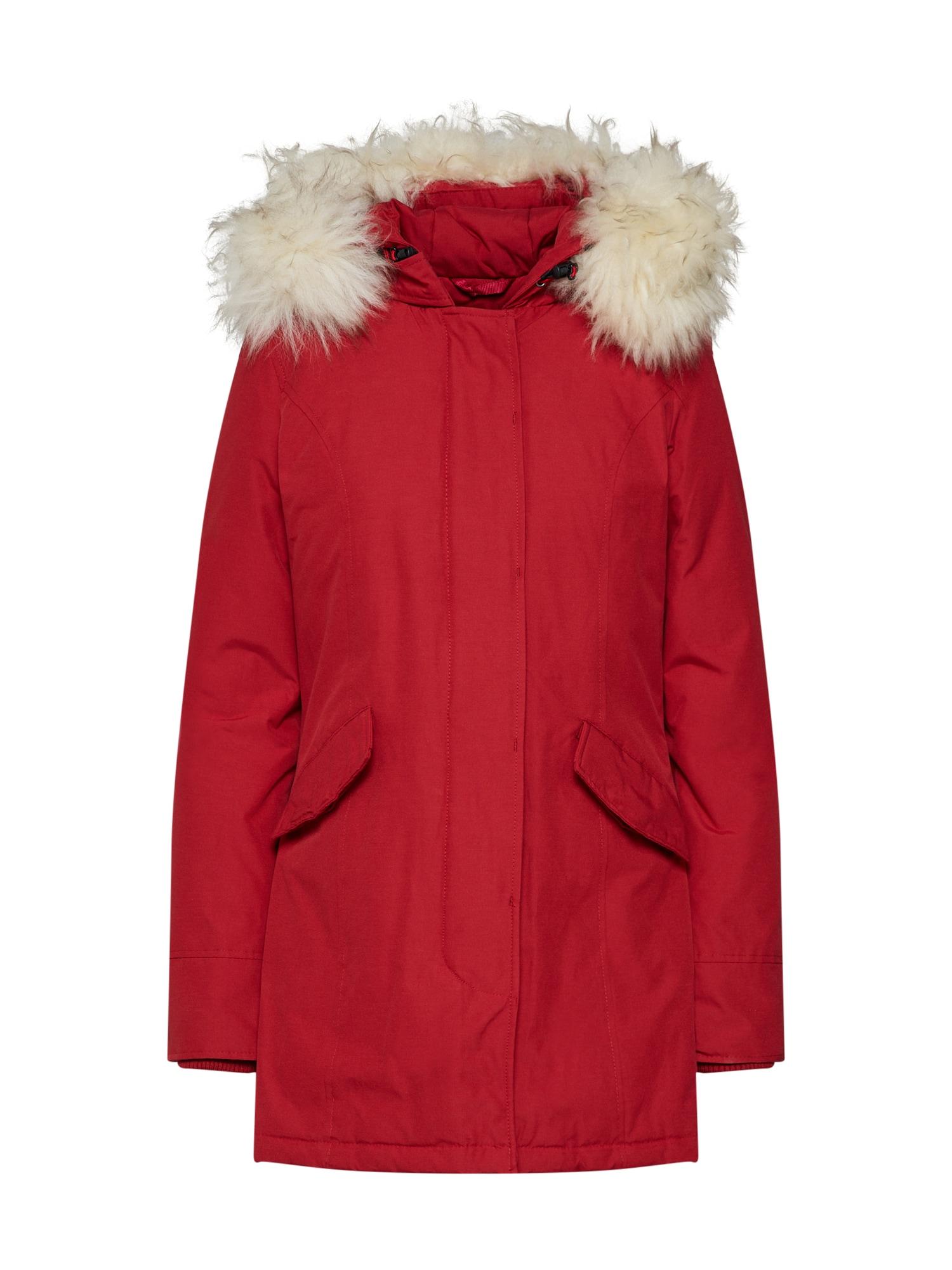 Zimní parka červená Canadian Classics