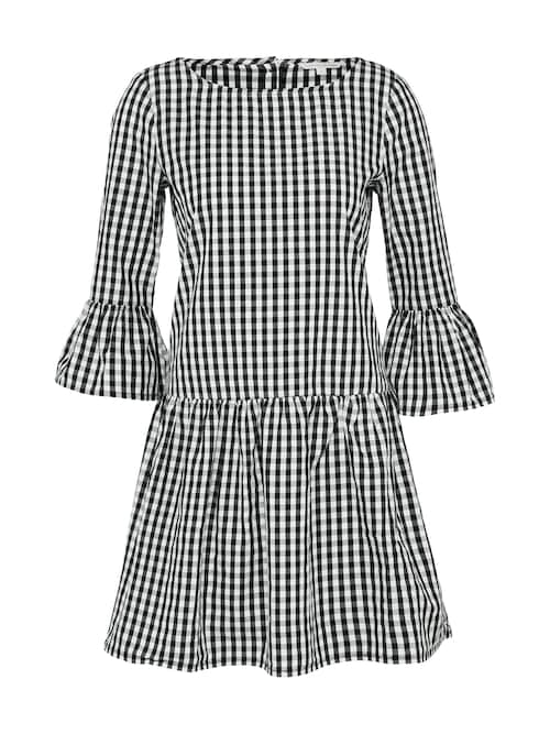 Kleid ´check dress with frill sleeve´