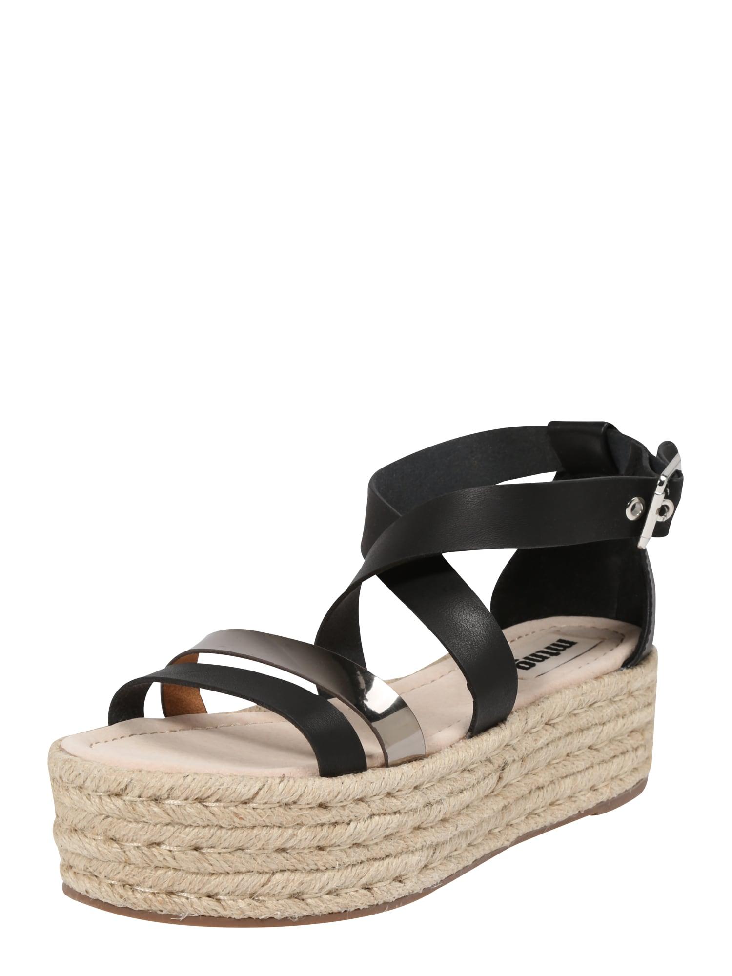 Sandály TESSY zlatá černá MTNG