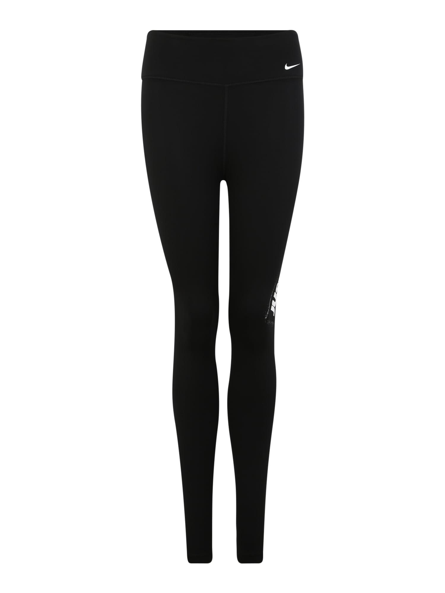 Sportovní kalhoty W ONE TGHT HBR JDI černá NIKE