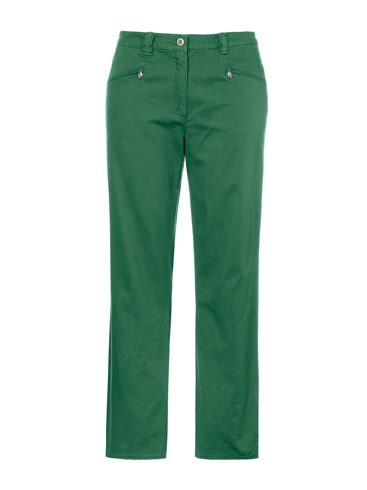 Kalhoty Mony zelená Ulla Popken