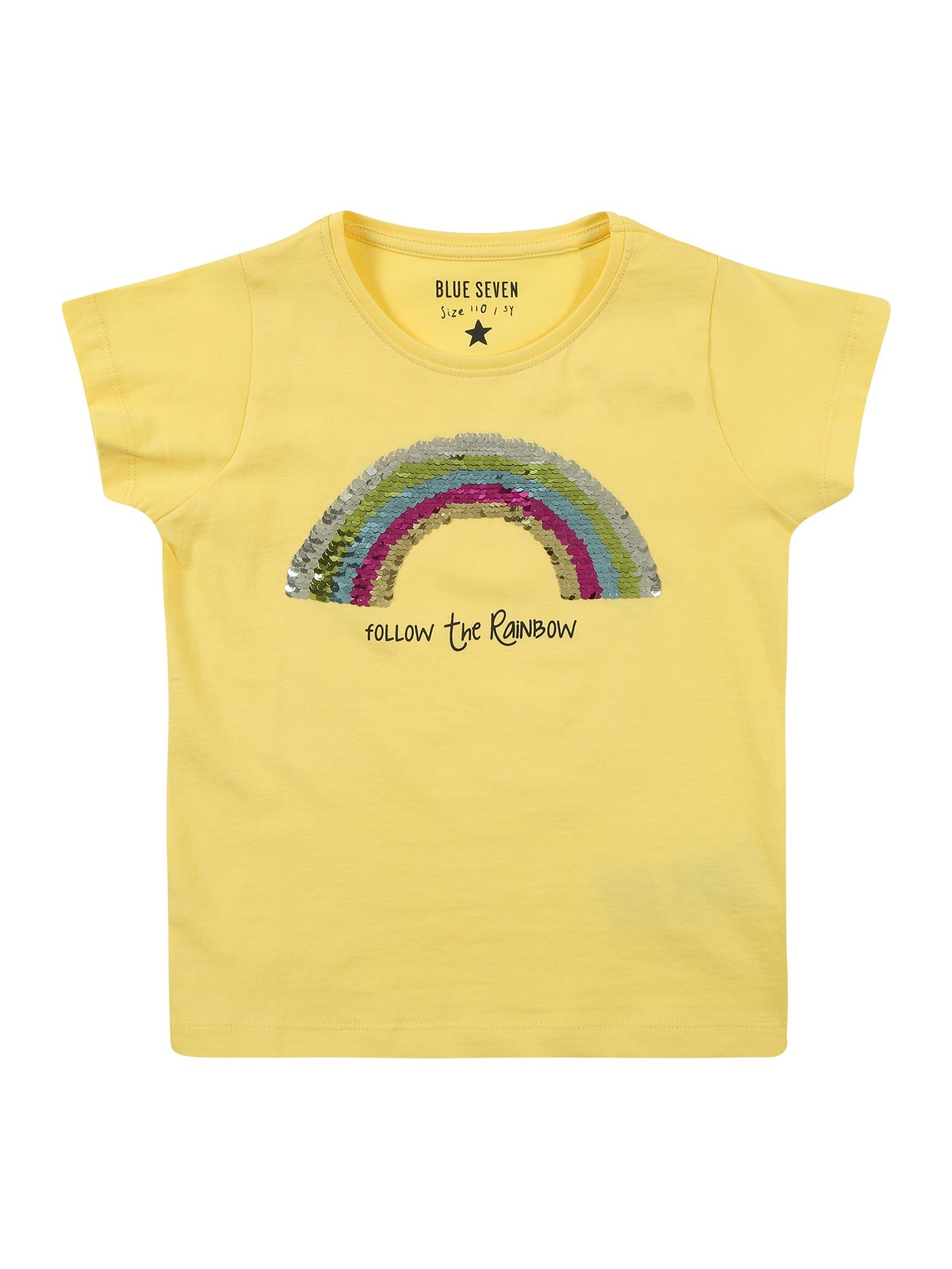 Tričko žlutá BLUE SEVEN