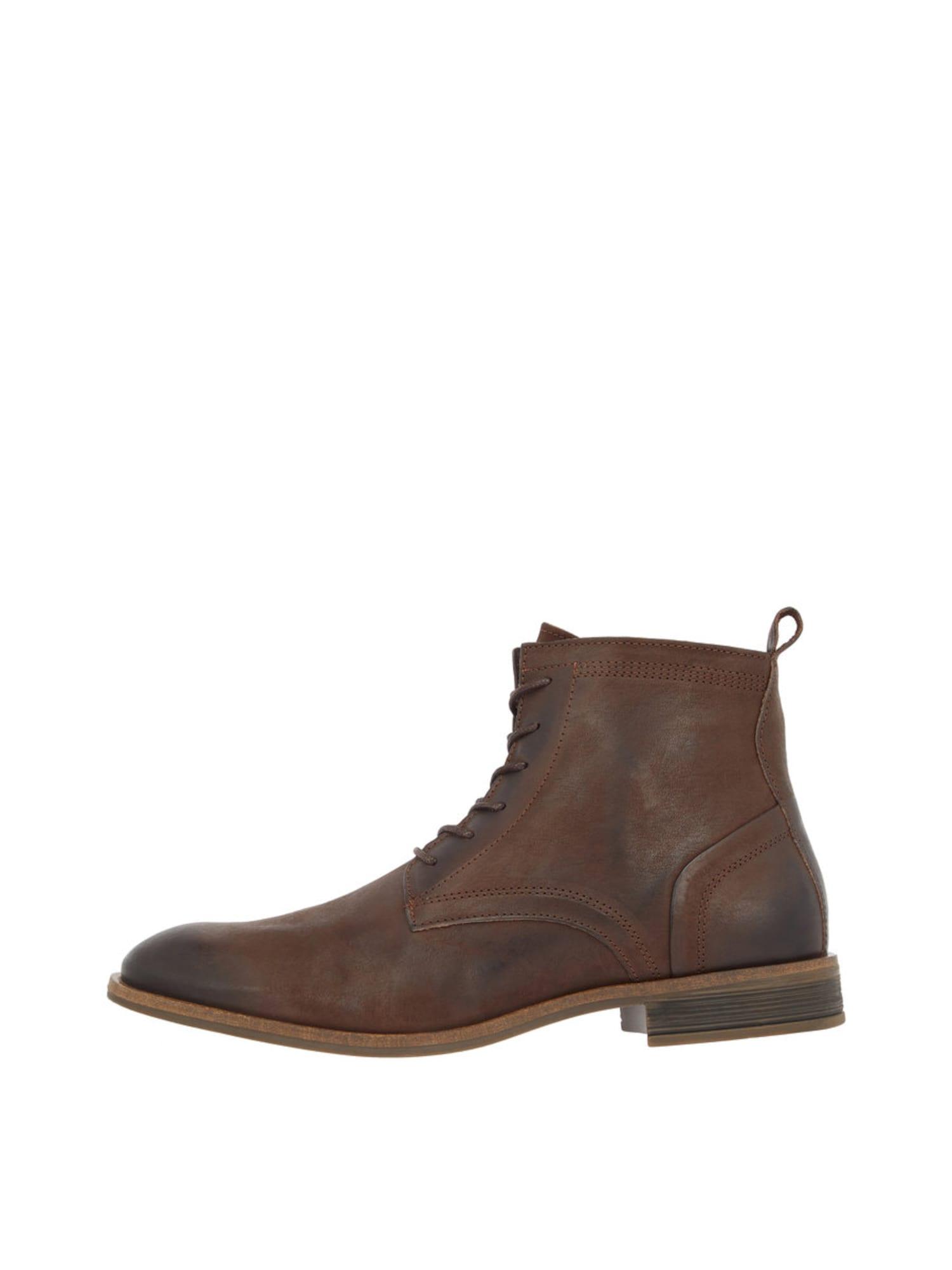 Šněrovací boty hnědá Bianco