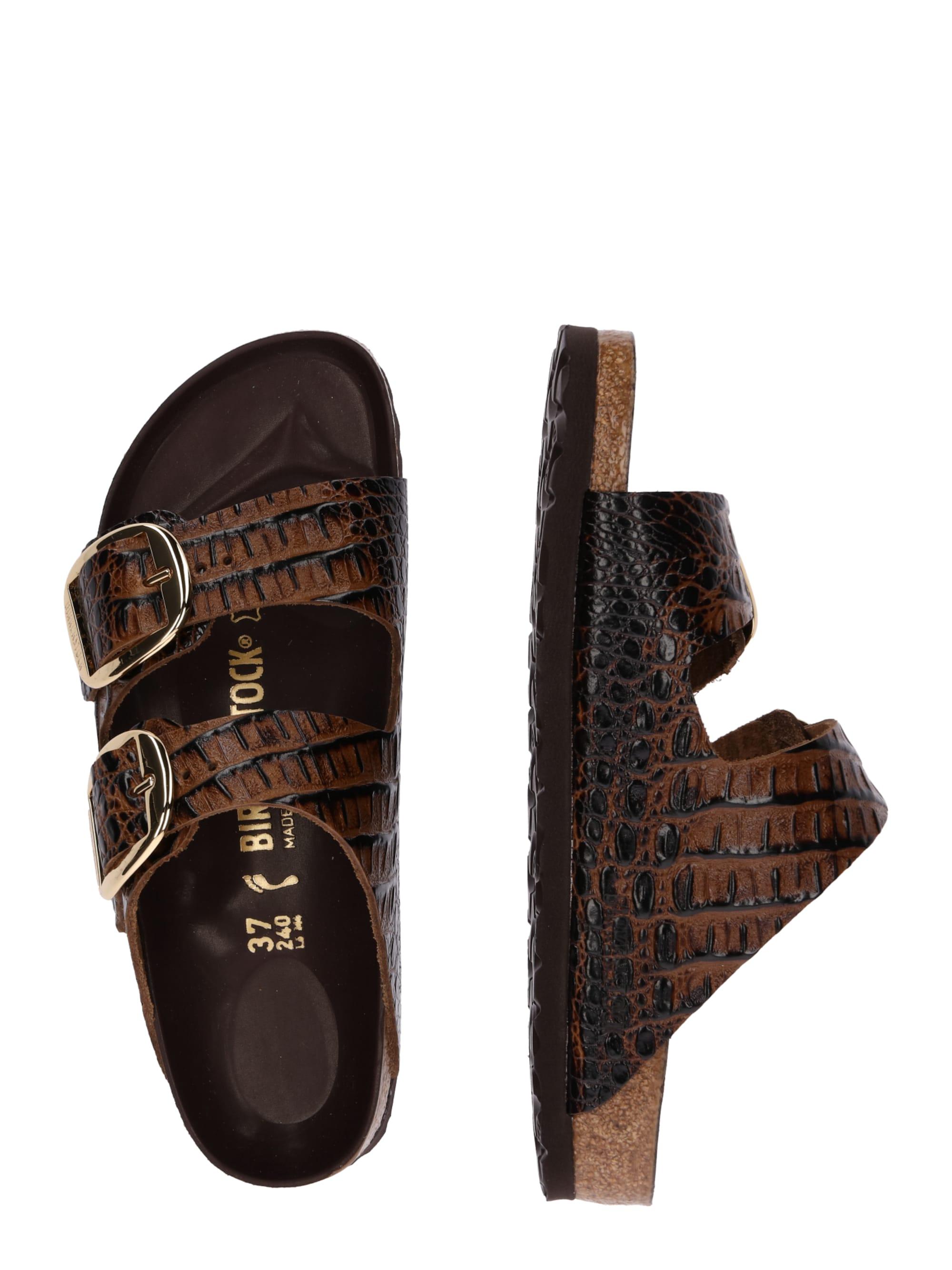 Sandalen met riem 'Arizona Big Buckle'