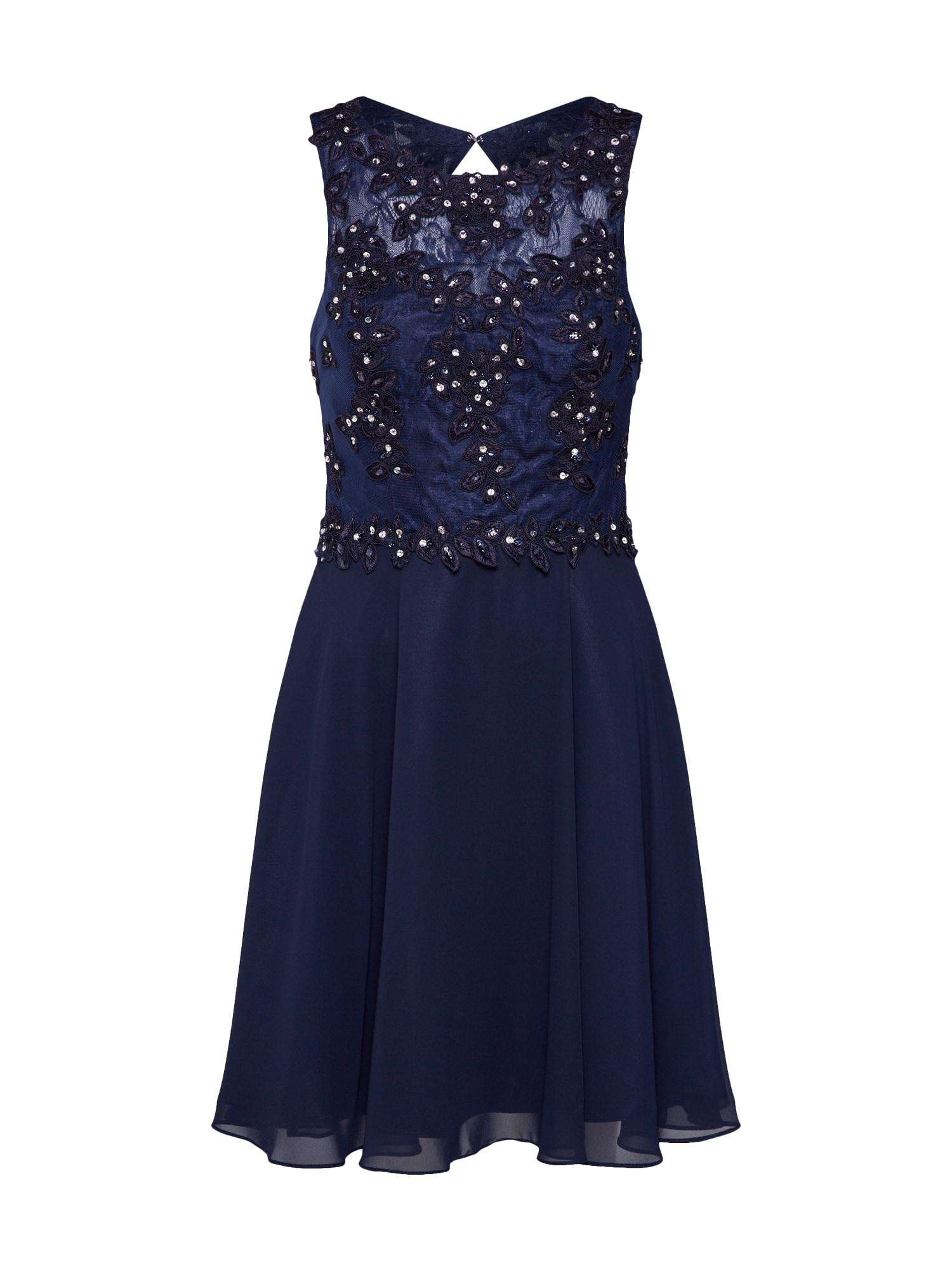 Koktejlové šaty námořnická modř MAGIC NIGHTS