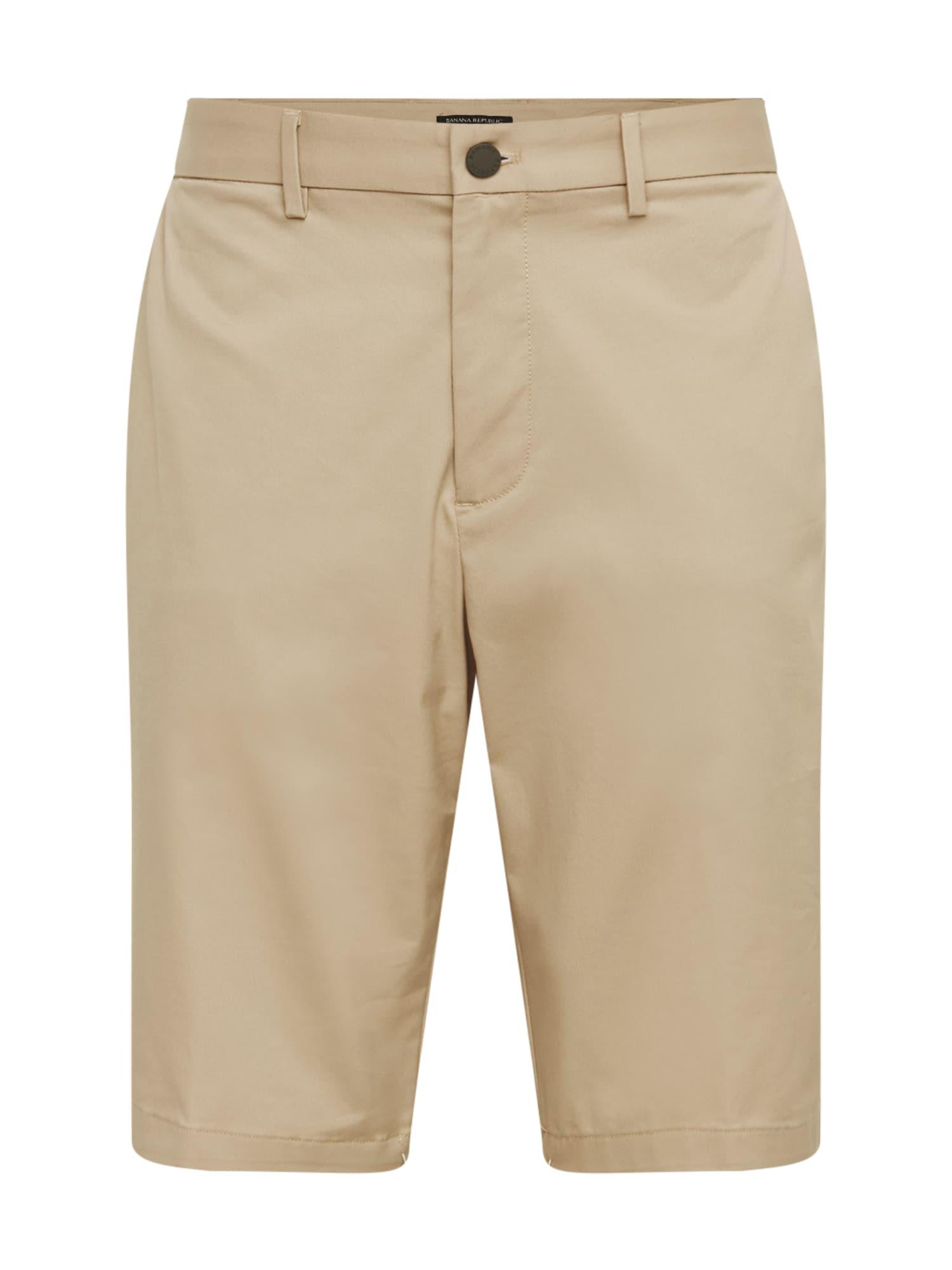 Chino kalhoty EMERSON 11 khaki Banana Republic