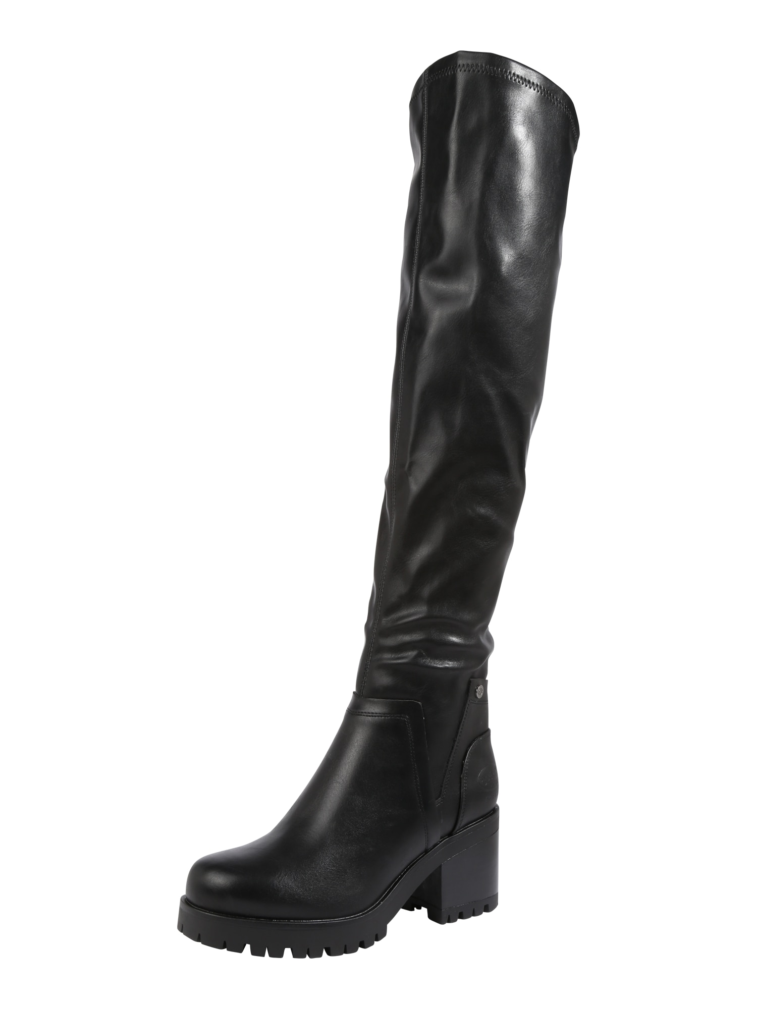 Dockers By Gerli, Dames Overknee laarzen, zwart