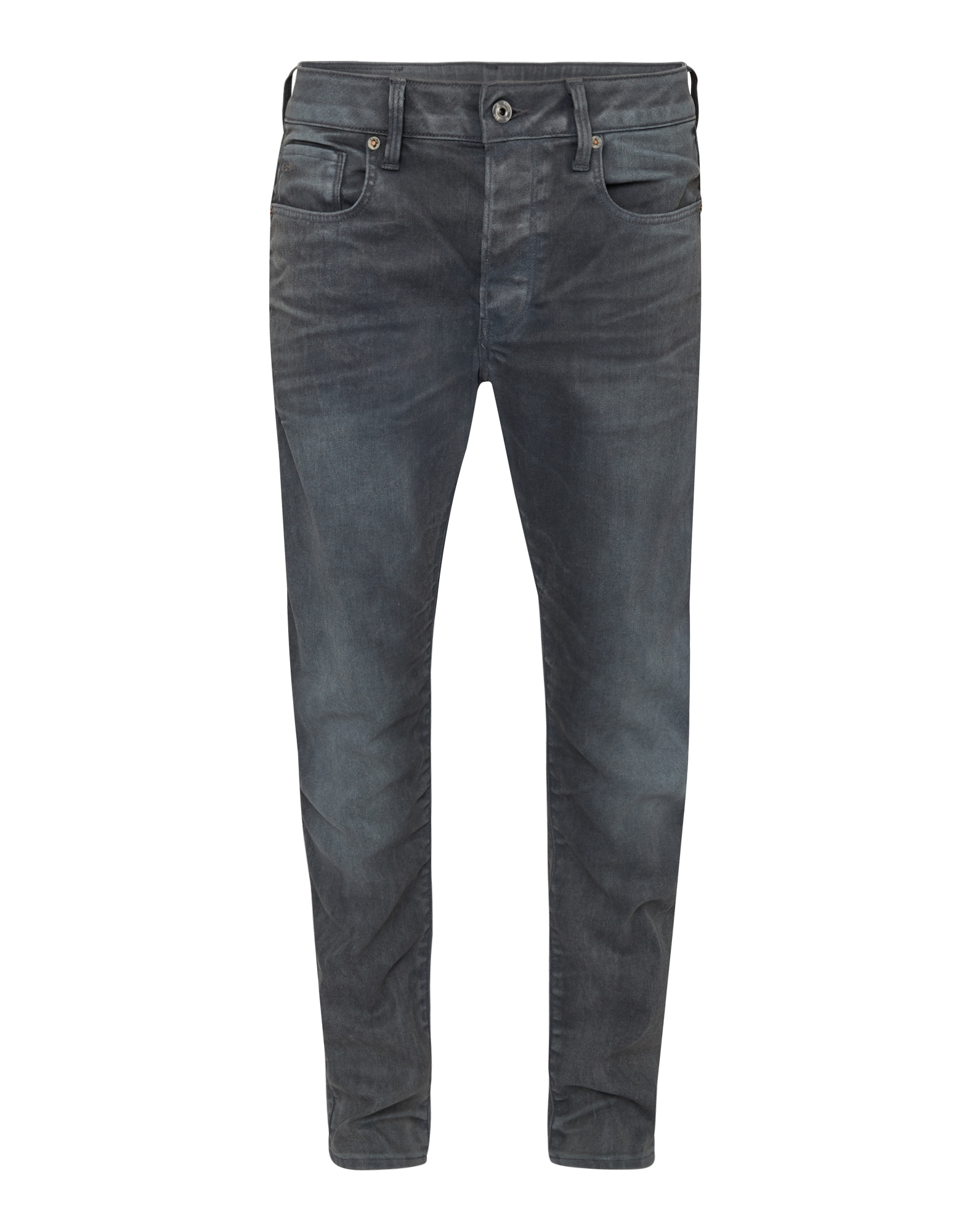 G-STAR RAW Heren Jeans 3301 Slim grey denim