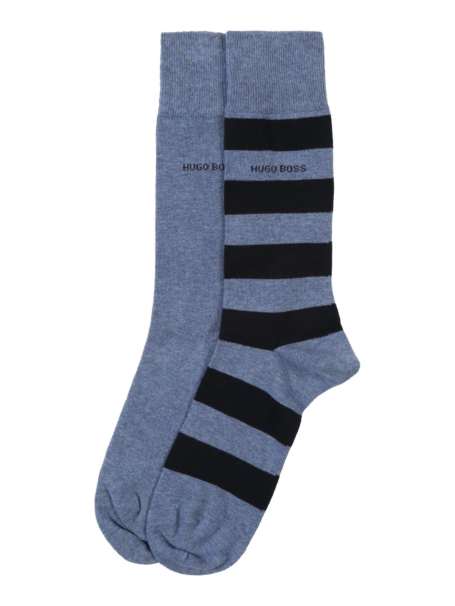 Ponožky 2P BlockStripe modrá BOSS