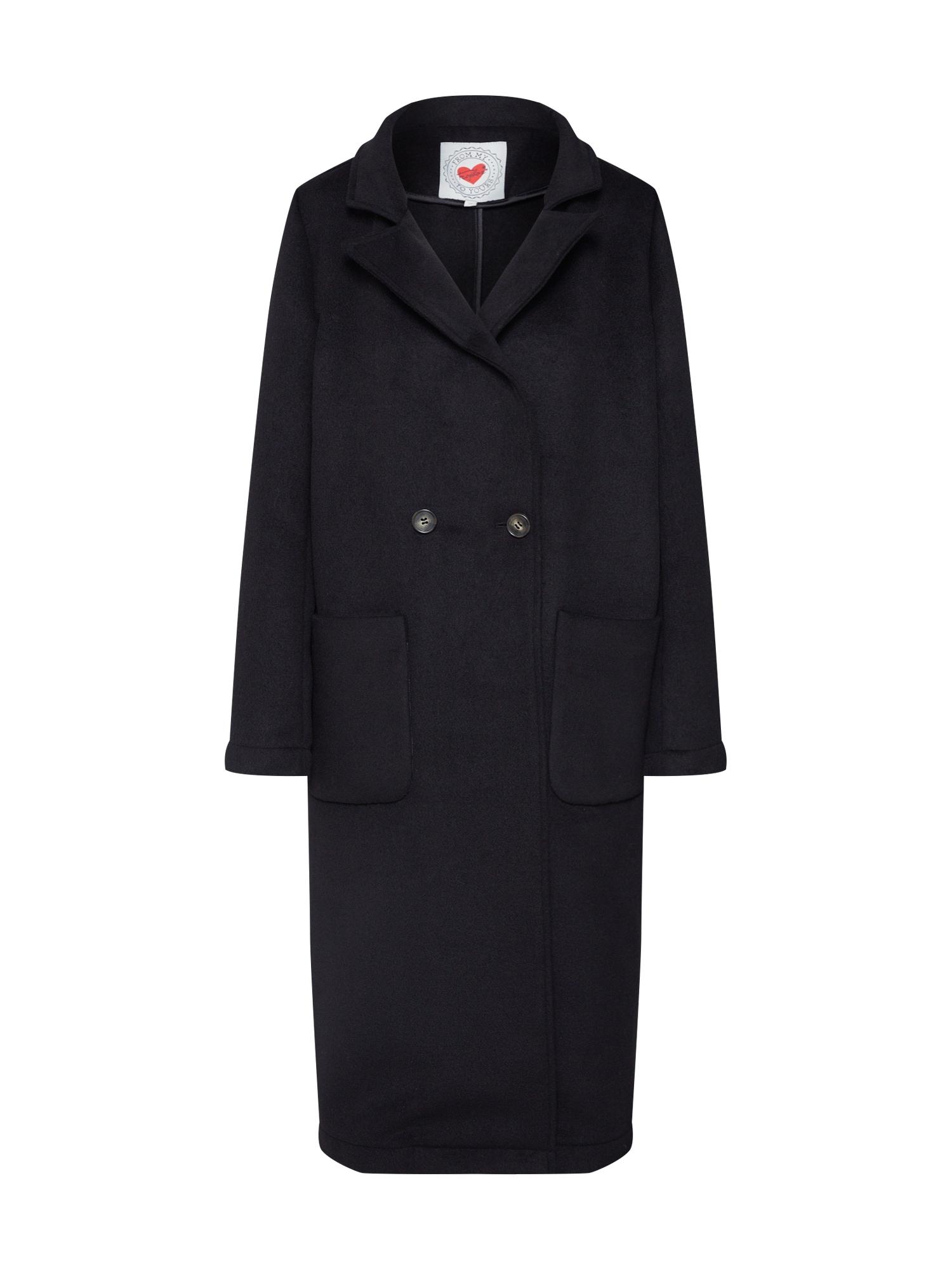 Přechodný kabát černá Frogbox