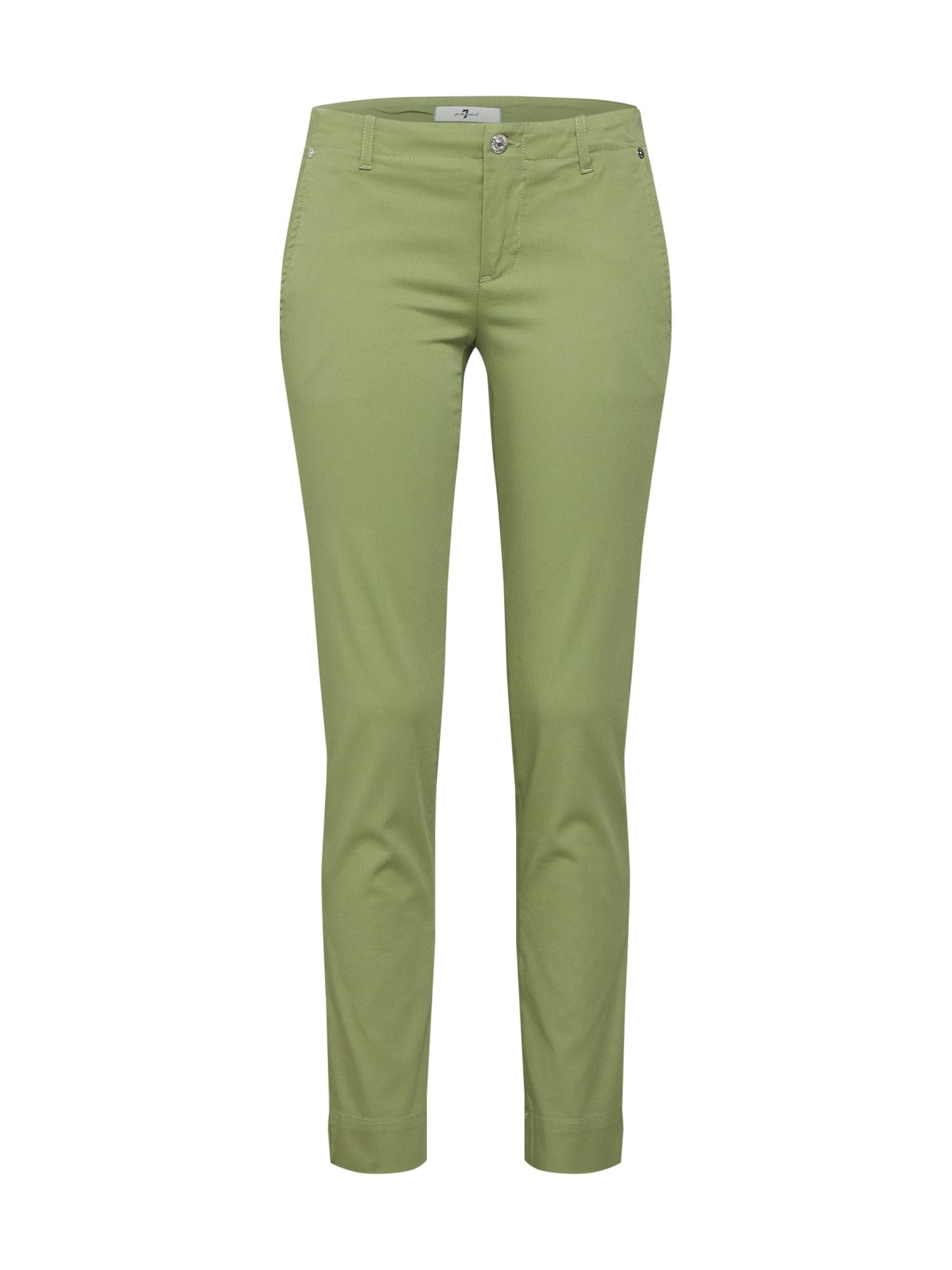 Chino kalhoty Pyper zelená 7 For All Mankind