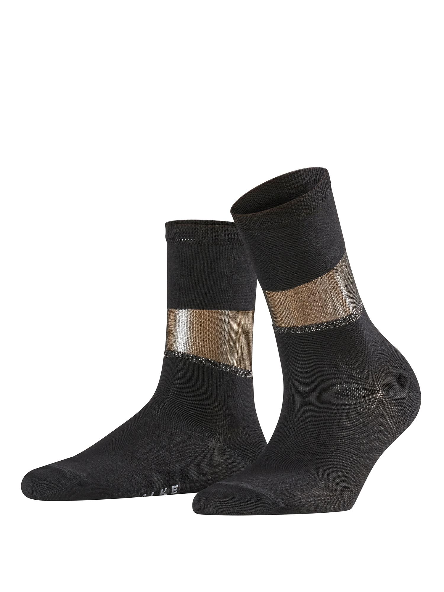Ponožky Sheer Elegan SO černá FALKE