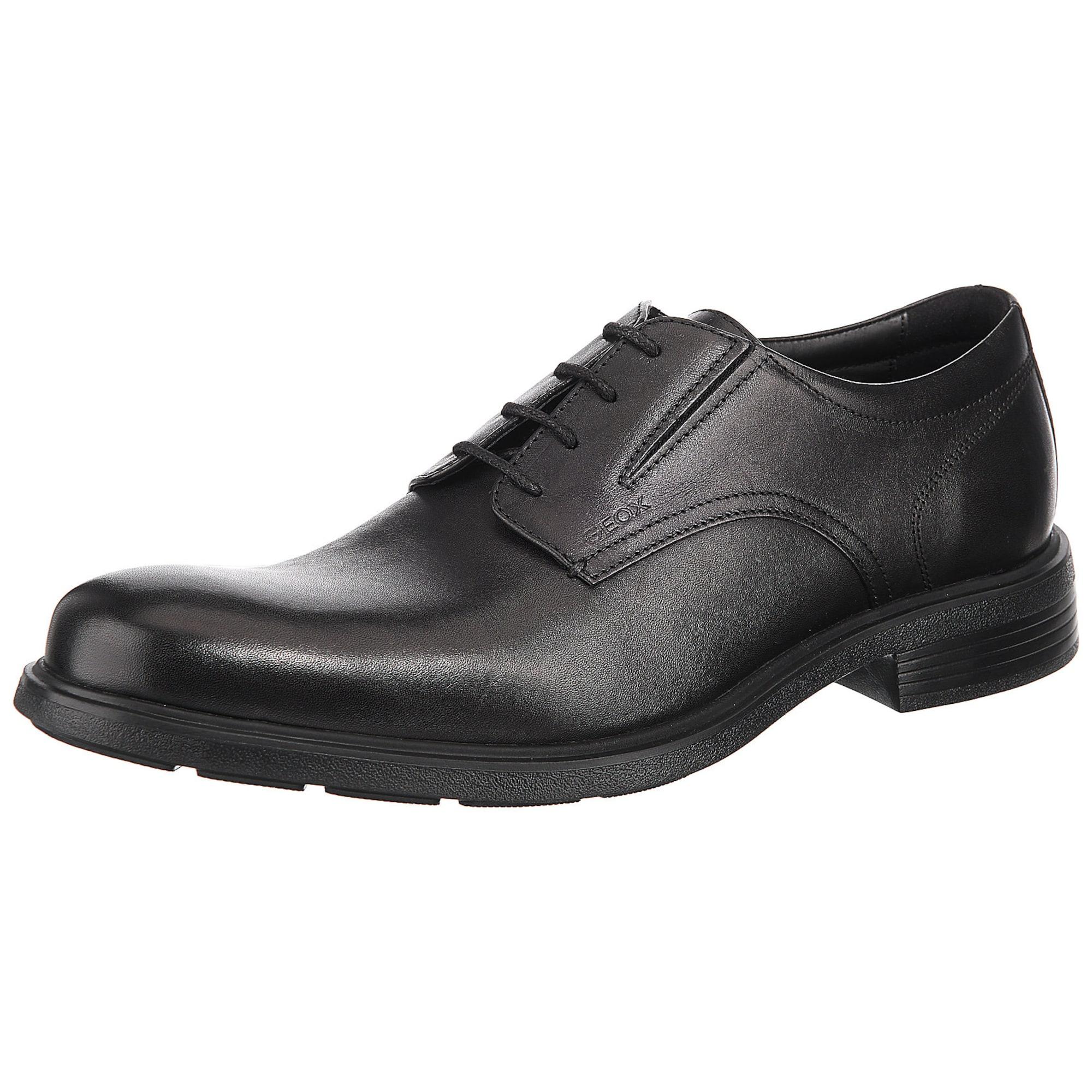 Šněrovací boty černá GEOX