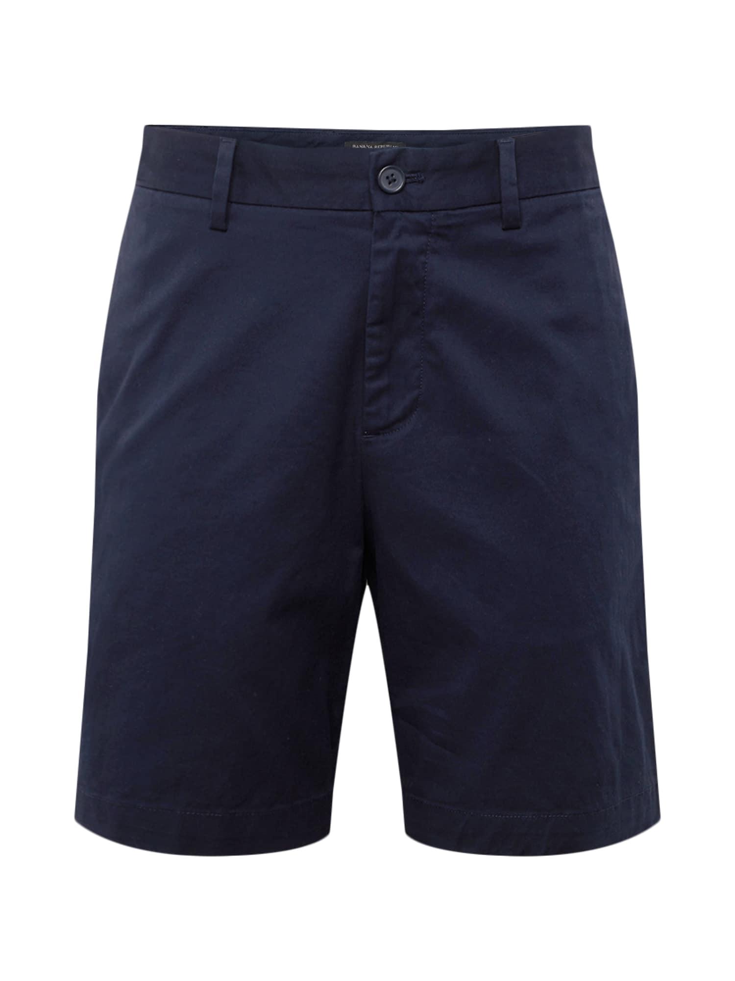Chino kalhoty AIDEN 9 NEW SOLID námořnická modř Banana Republic