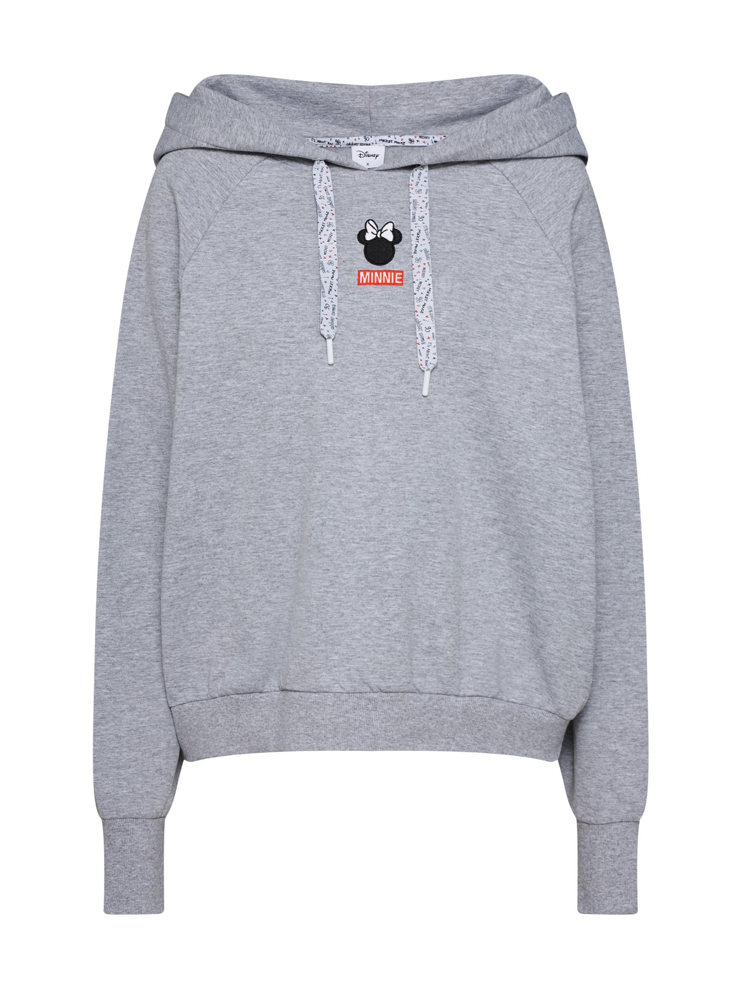 Disney X ABOUT YOU, Dames Sweatshirt 'Kim', grijs
