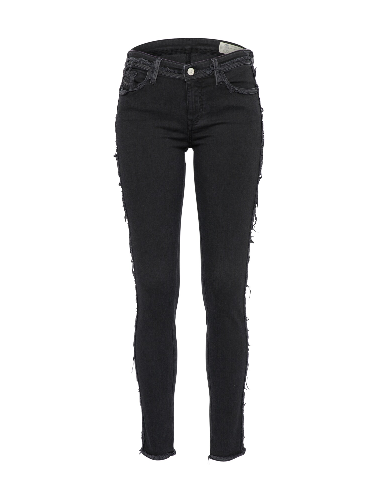 DIESEL Dames Jeans SLANDY-SP black denim