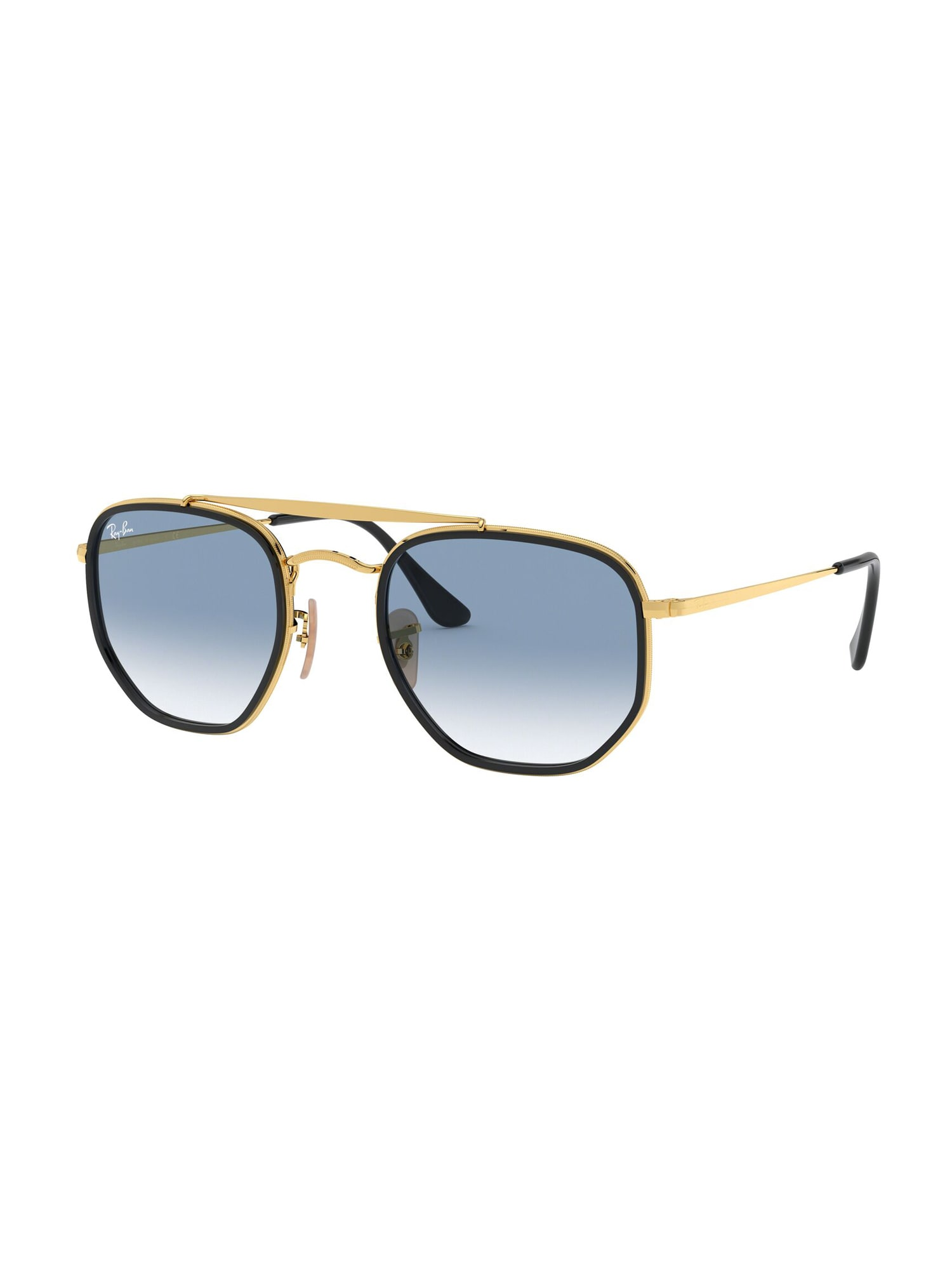 Ray-Ban Sluneční brýle 'THE MARSHAL II'  modrá / zlatá