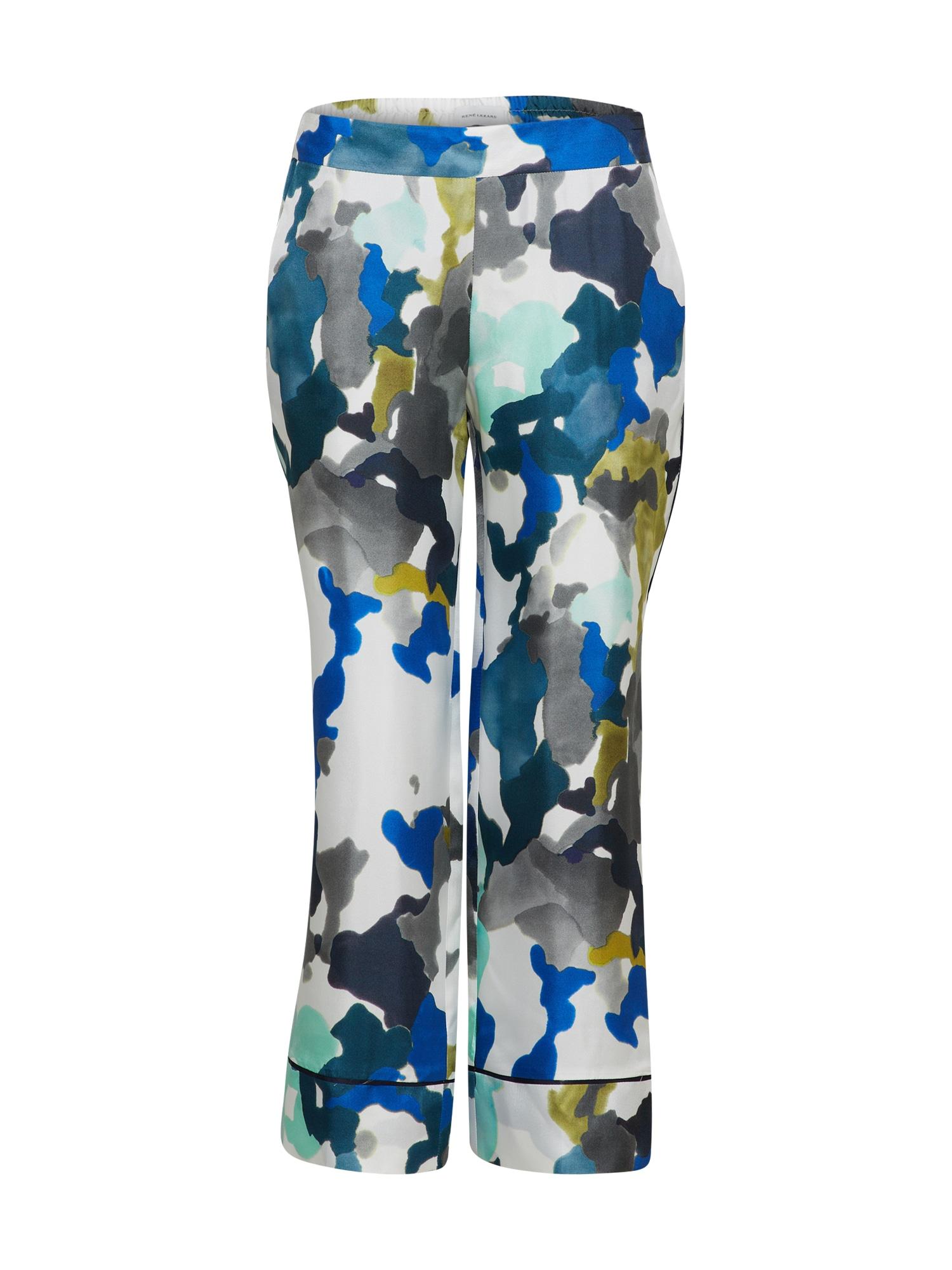 Kalhoty modrá olivová bílá RENÉ LEZARD