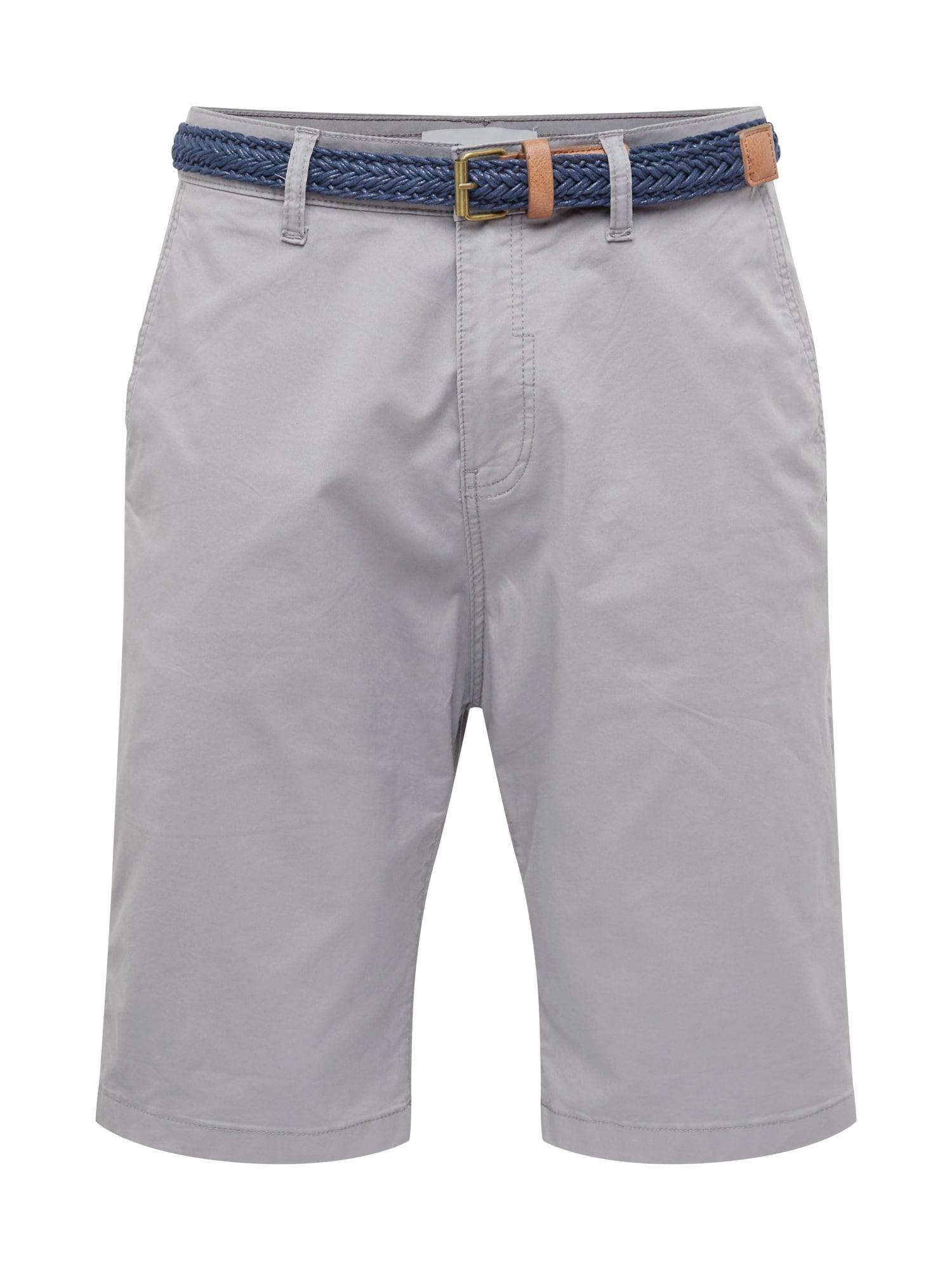 Chino kalhoty NOOS OCS světle šedá ESPRIT