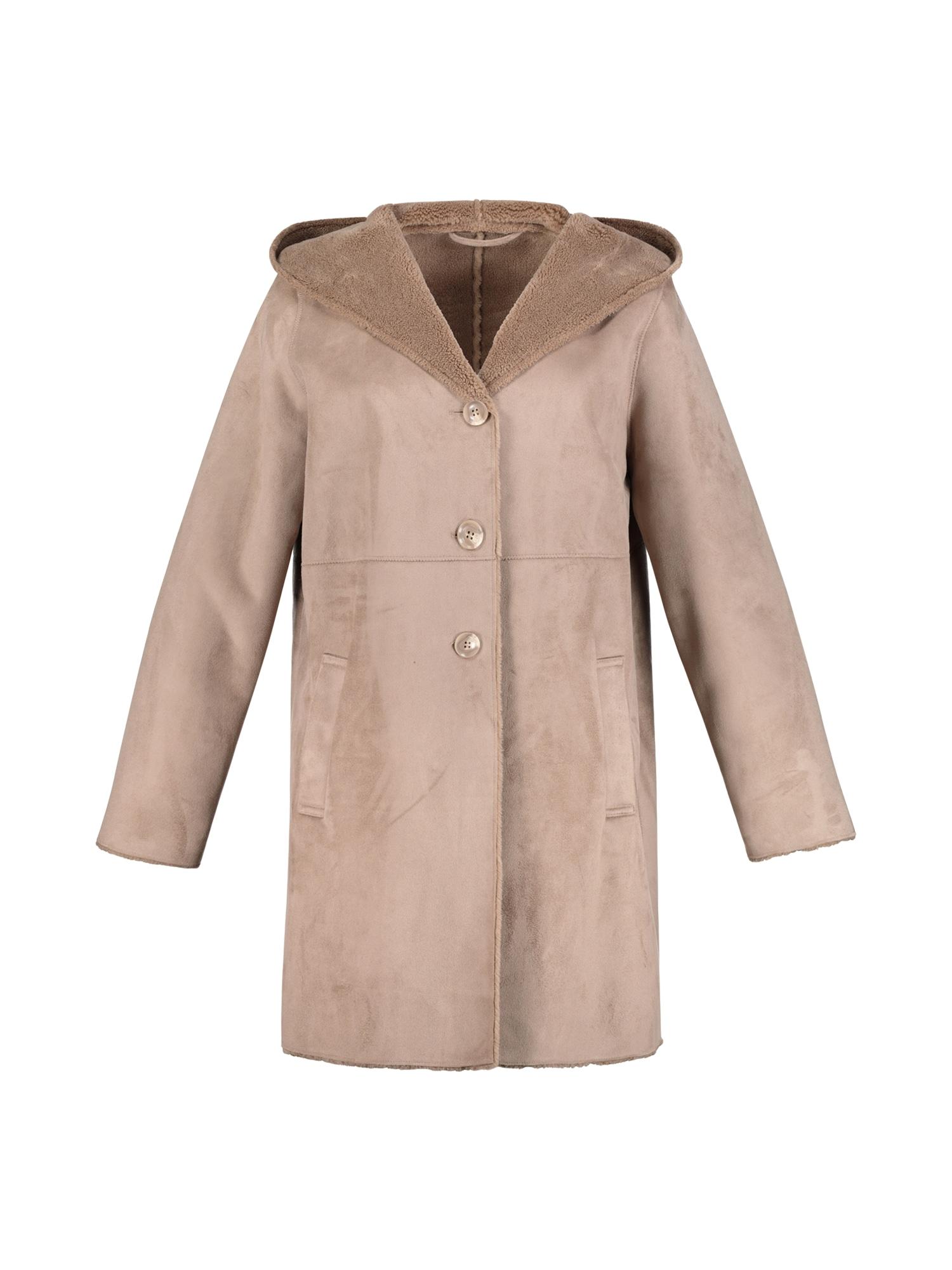 Přechodný kabát světle hnědá Ulla Popken