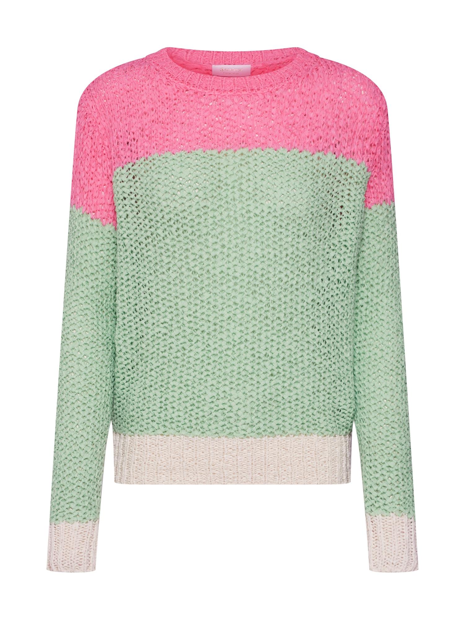 Svetr zelená pink Rich & Royal