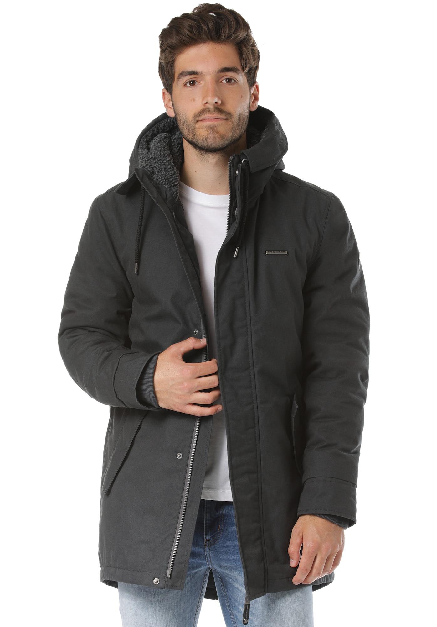 Ragwear Prechodná bunda 'Mr Smith'  čadičová