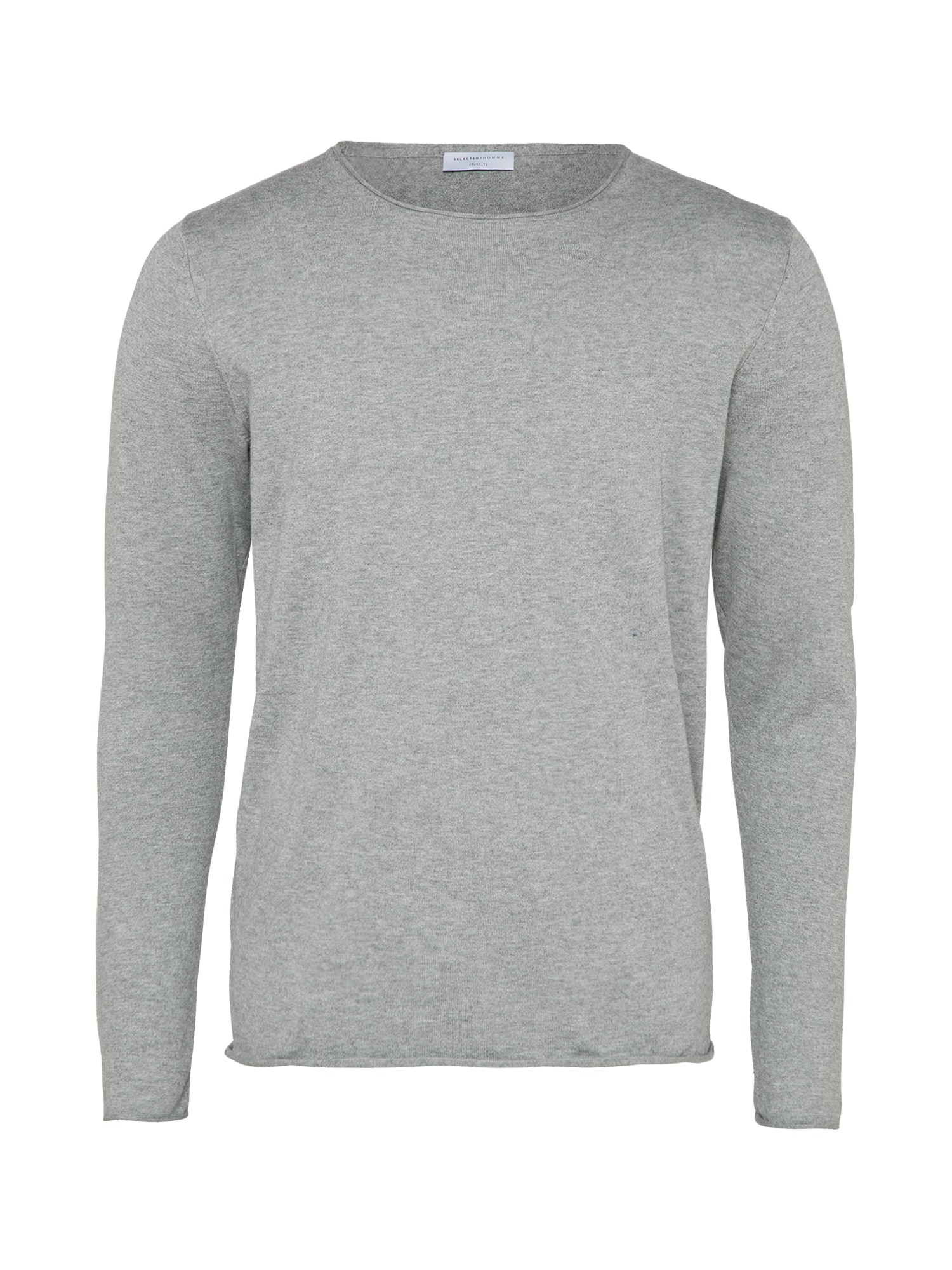 SELECTED HOMME Sveter 'SHDDOME CREW NECK NOOS' sivá
