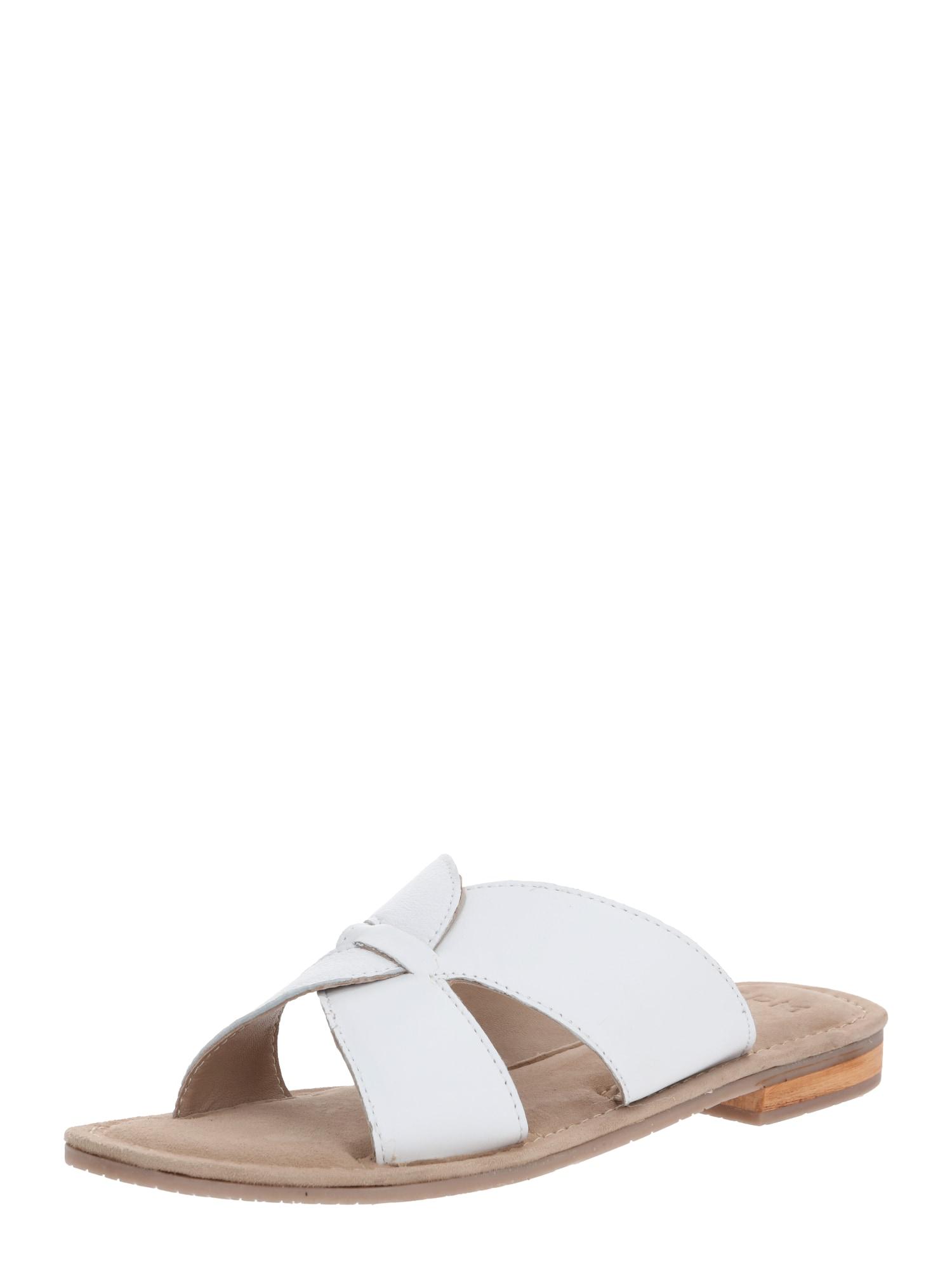 SPM Pantofle 'Coring'  bílá