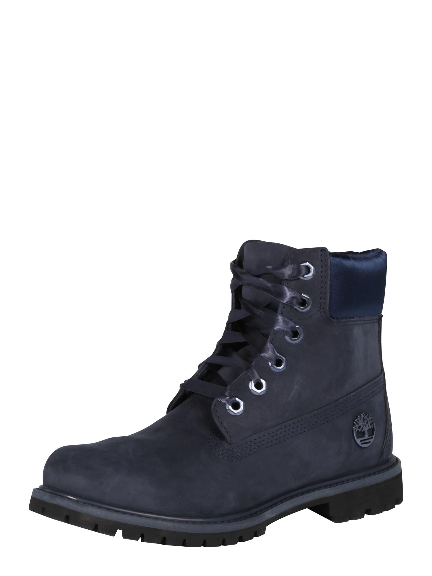 Šněrovací boty Premium námořnická modř TIMBERLAND