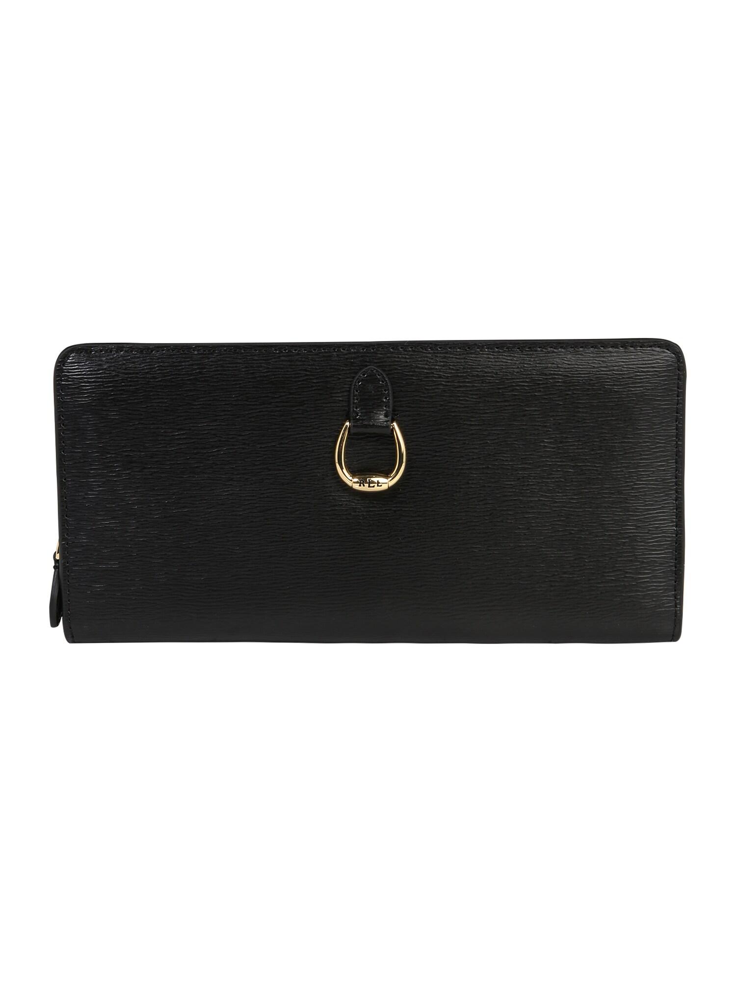 Peněženka černá Lauren Ralph Lauren