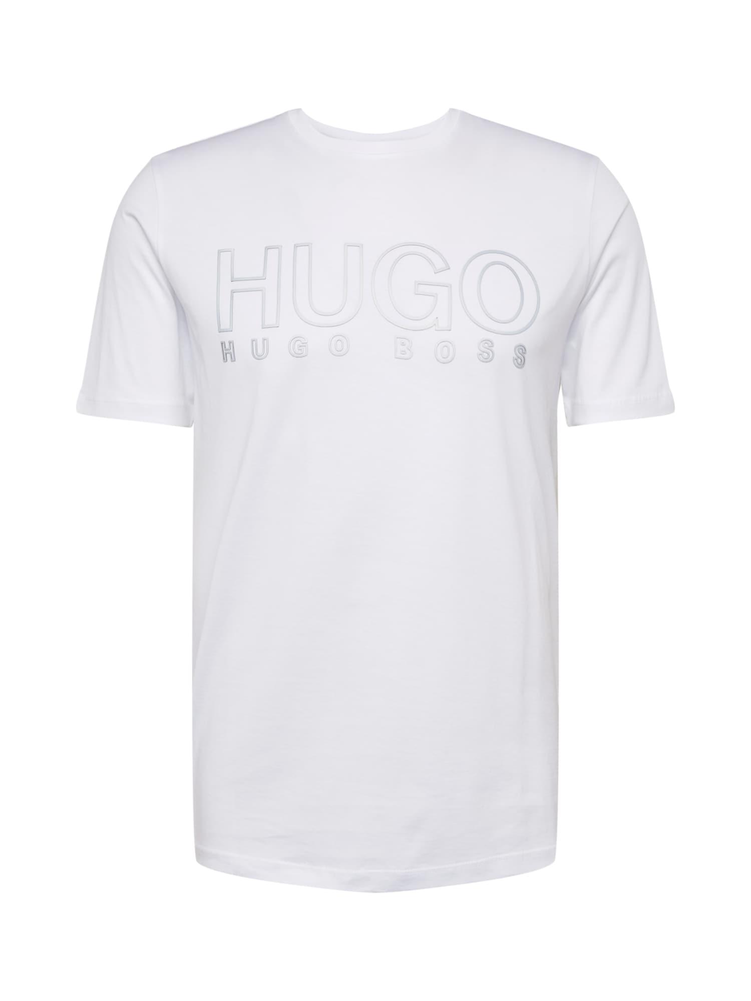 HUGO Tričko 'Dolive-U20'  bílá