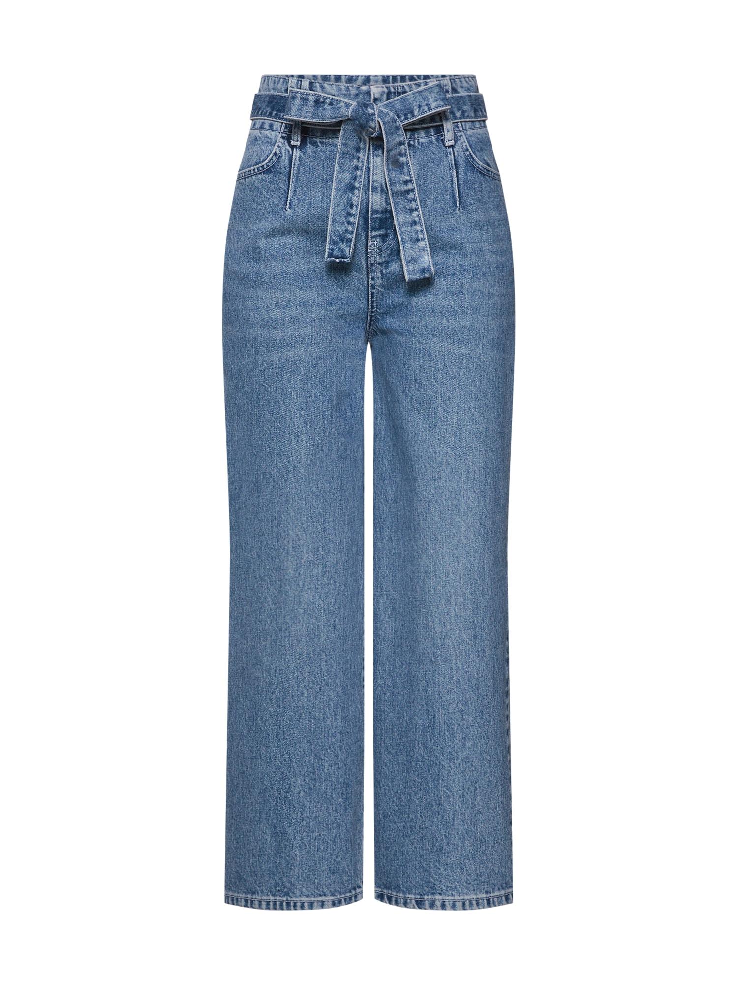 Džíny Madison Straight Leg Jeans modrá džínovina NORR