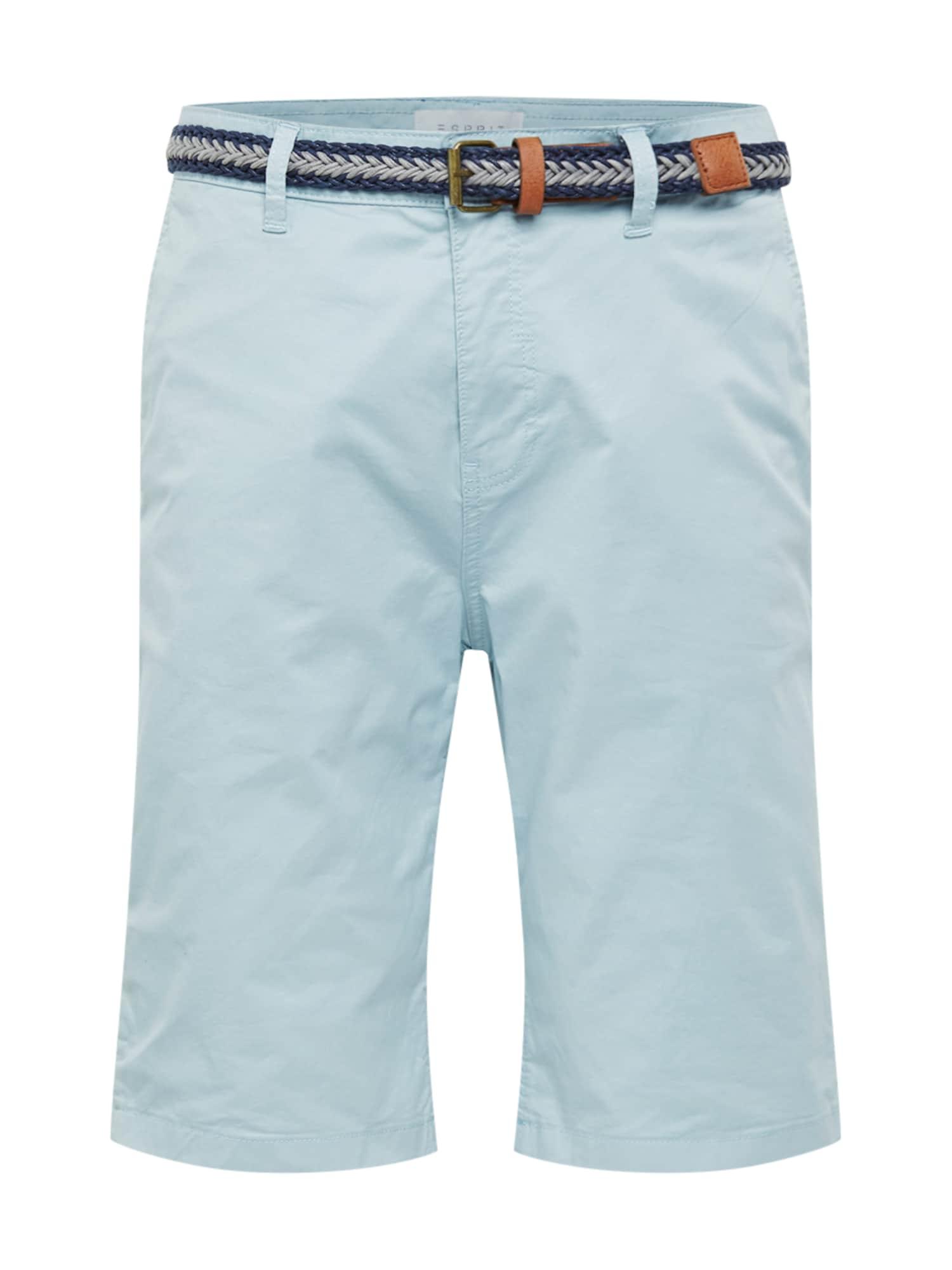 Chino kalhoty OCS shortx světlemodrá ESPRIT