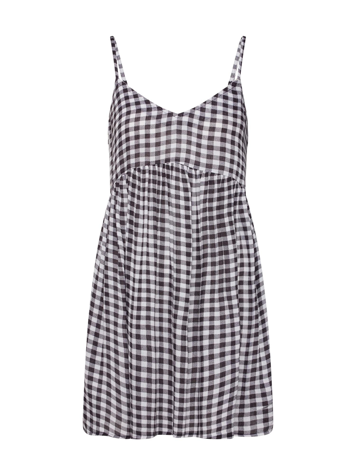 Letní šaty easy breezy černá bílá ELEMENT