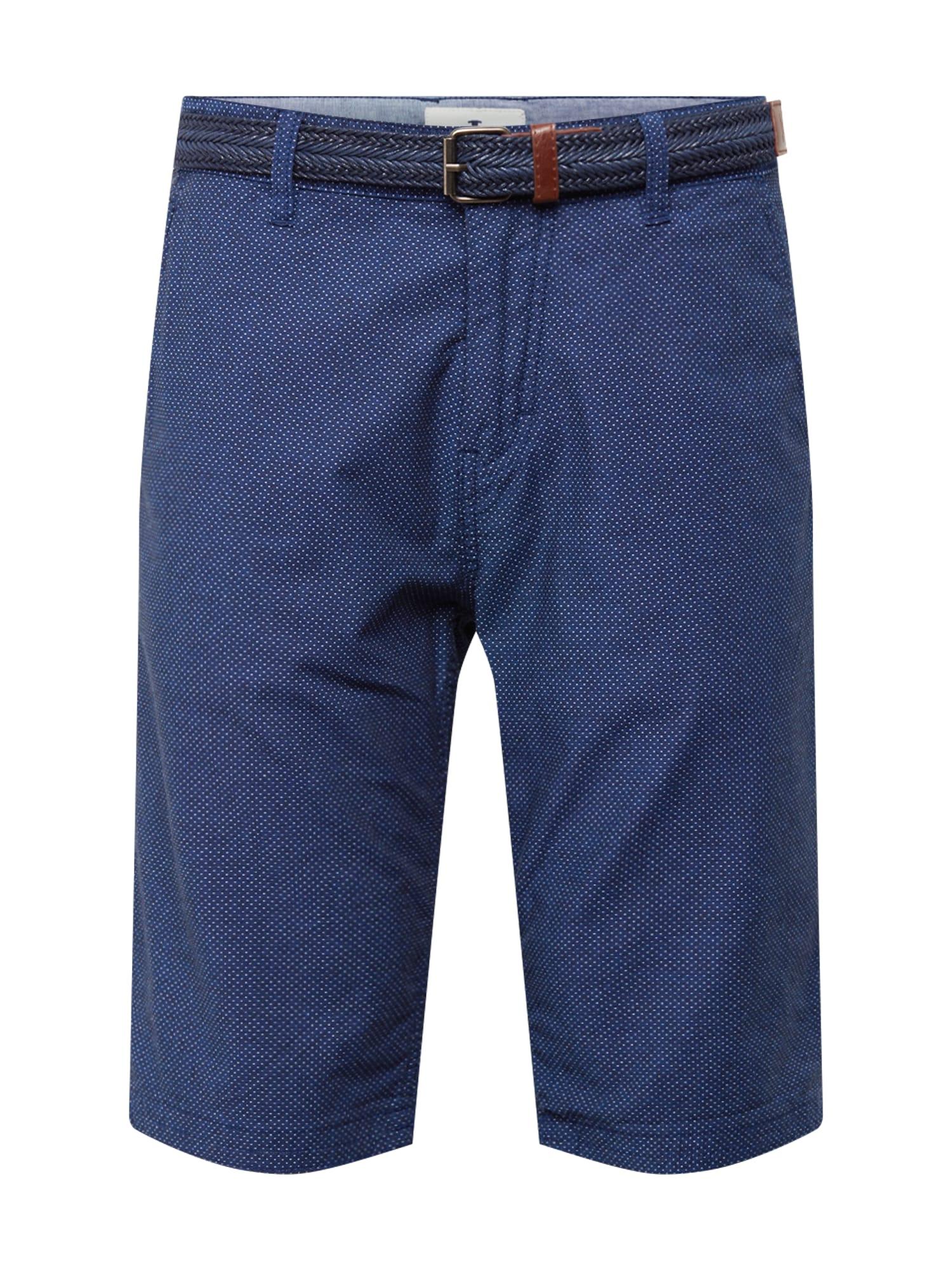 Chino kalhoty tmavě modrá TOM TAILOR