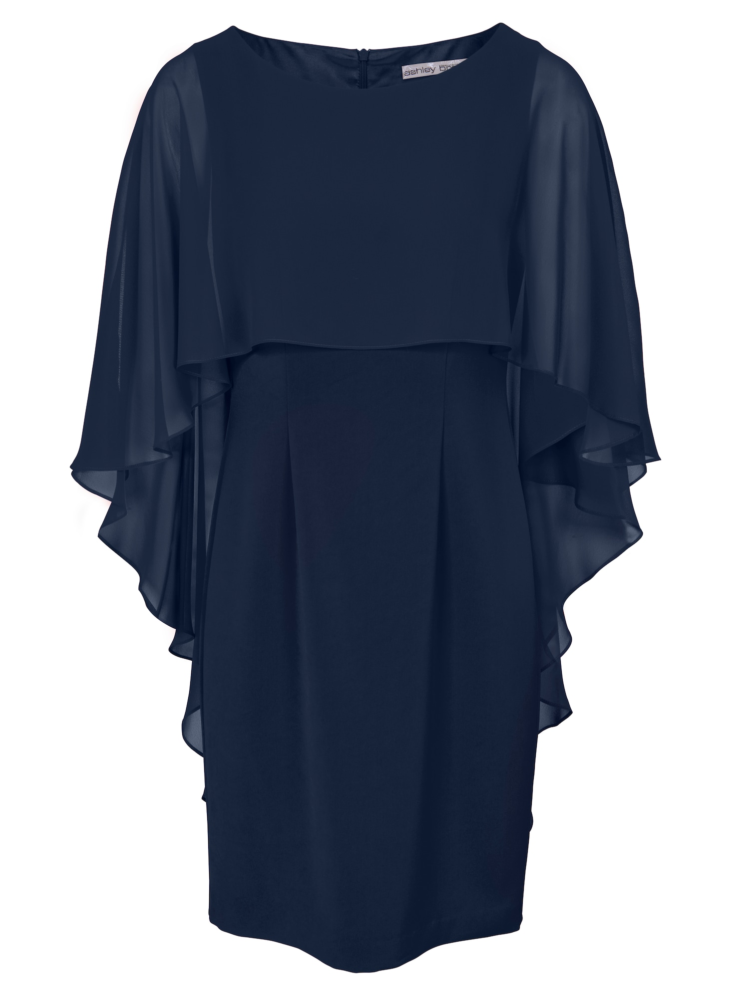 Heine Sukienka koktajlowa  ciemny niebieski