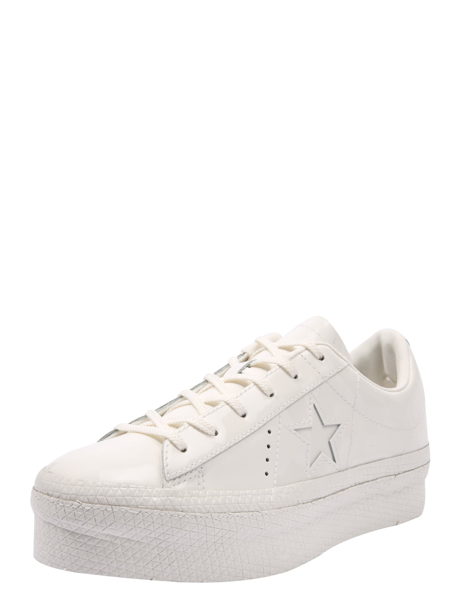 CONVERSE, Dames Sneakers laag 'ONE STAR PLATFORM - OX', wit