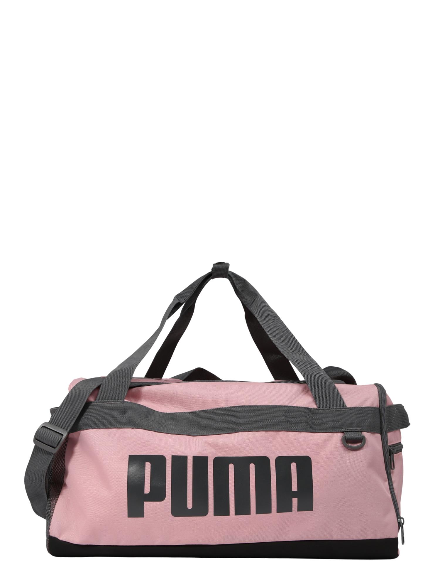 Sportovní taška Challenger Duffel růžová černá PUMA